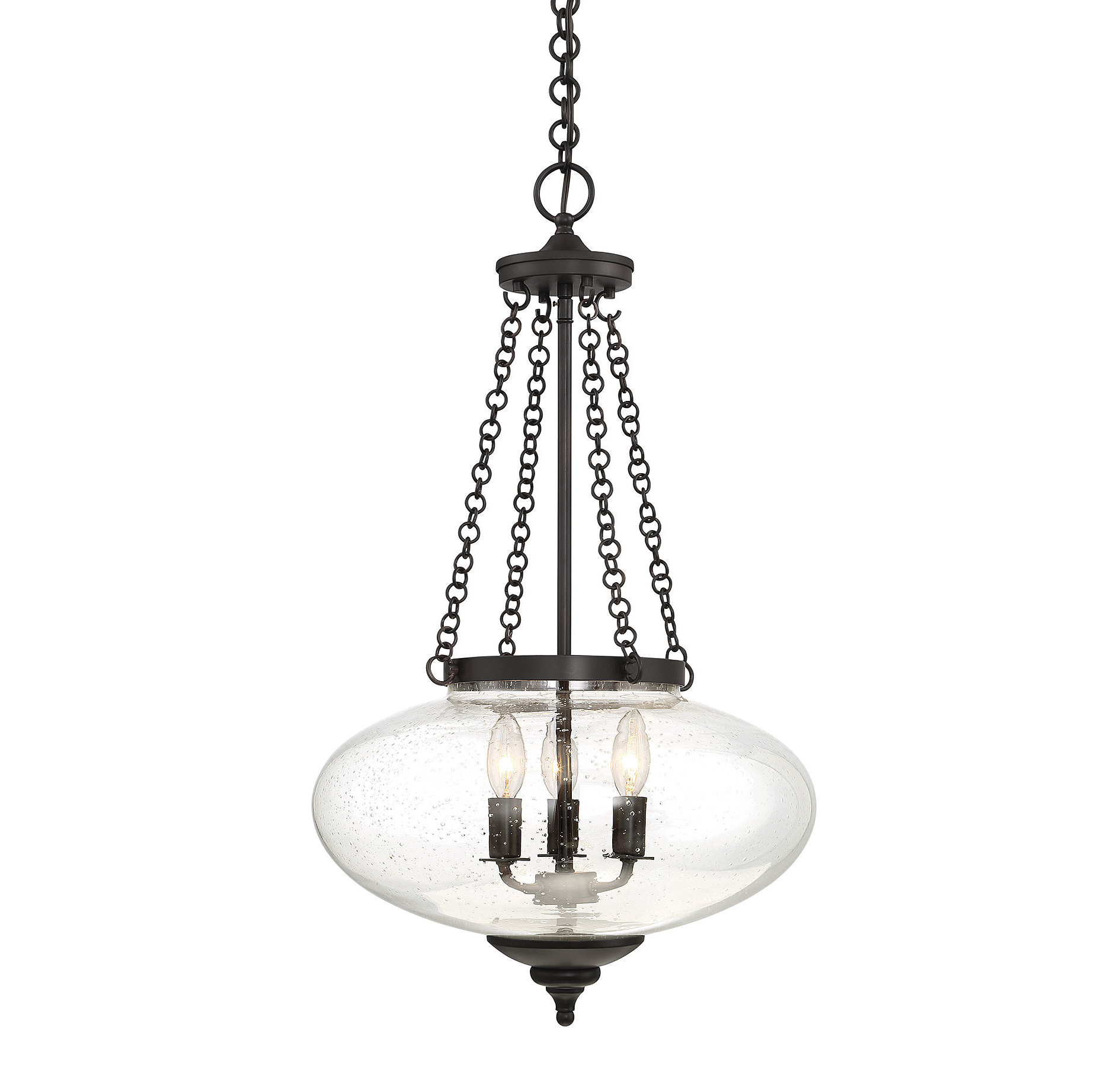 Fortunat 3 Light Urn Pendant With Regard To Most Current Spokane 1 Light Single Urn Pendants (View 11 of 20)