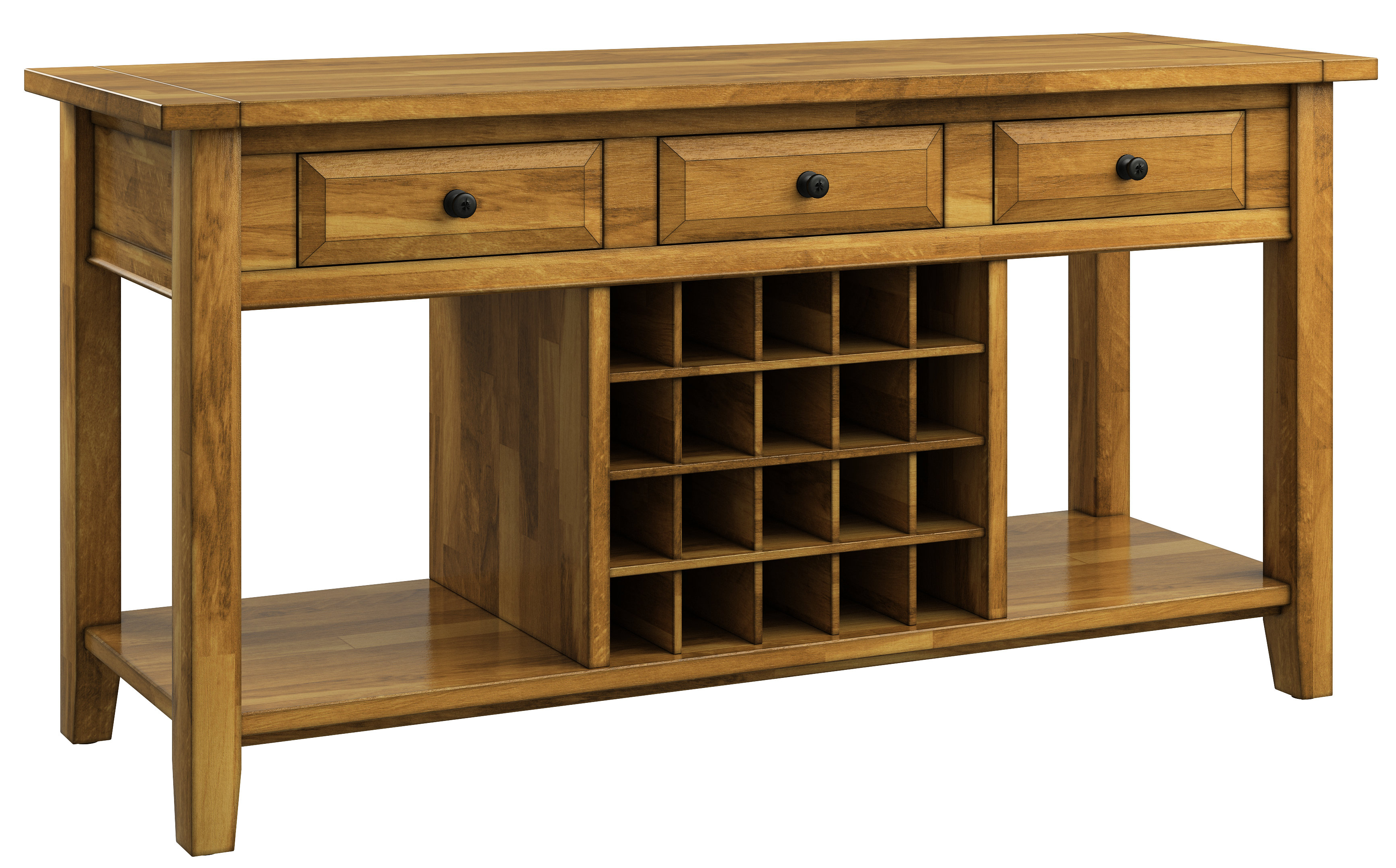 Fortville Sideboards Pertaining To Best And Newest Fortville Buffet Table (View 9 of 20)