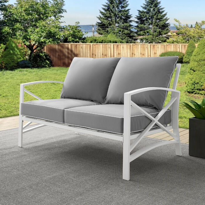 Freitag Loveseat With Cushions With Regard To Famous Pantano Loveseats With Cushions (View 18 of 20)