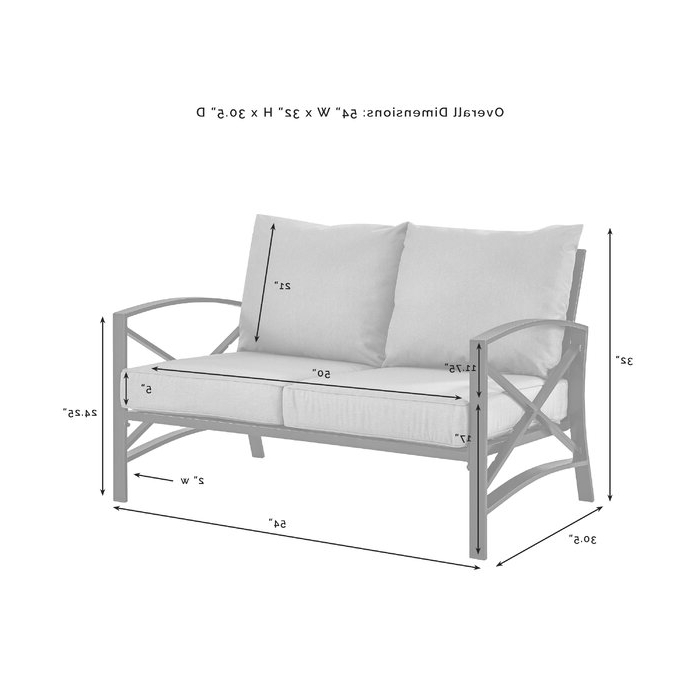 Freitag Loveseat With Cushions With Regard To Newest Freitag Loveseats With Cushions (Gallery 11 of 20)