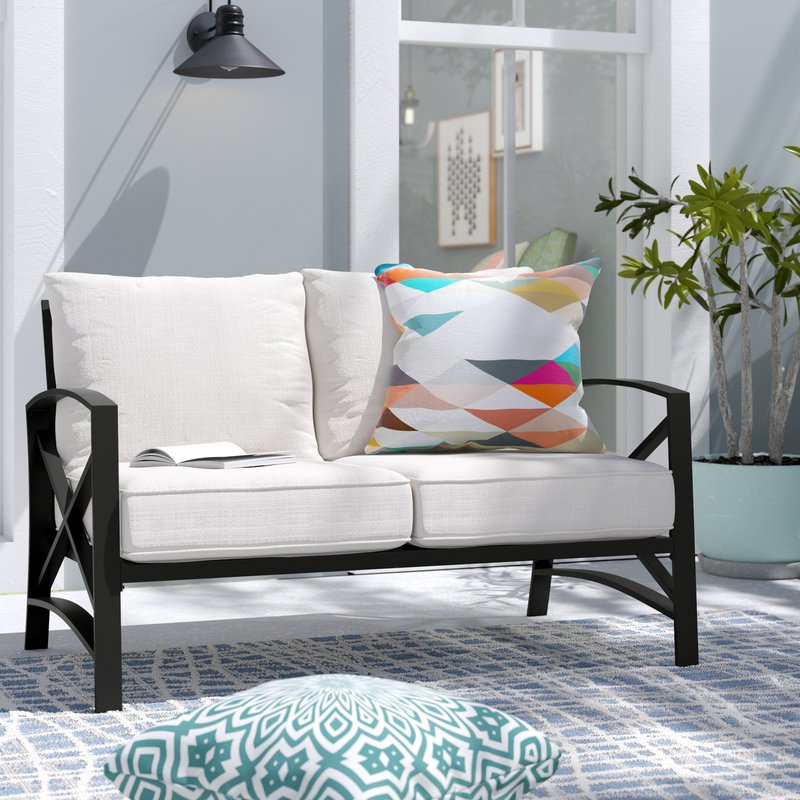Freitag Loveseat With Cushions With Trendy Freitag Loveseats With Cushions (View 7 of 20)