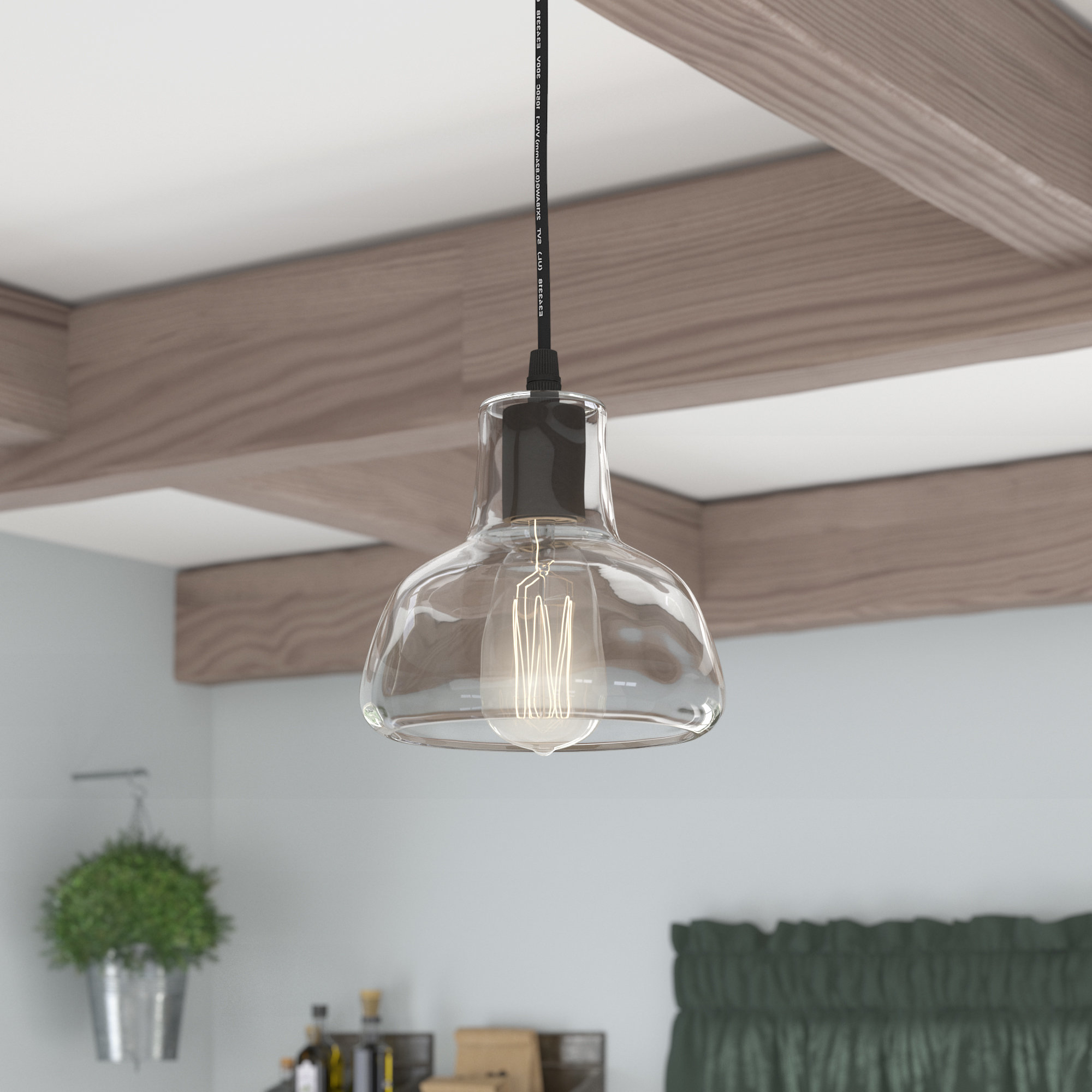 Fresno Dome 1 Light Bell Pendants With Regard To Favorite Bouvet 1 Light Dome Pendant (View 12 of 20)
