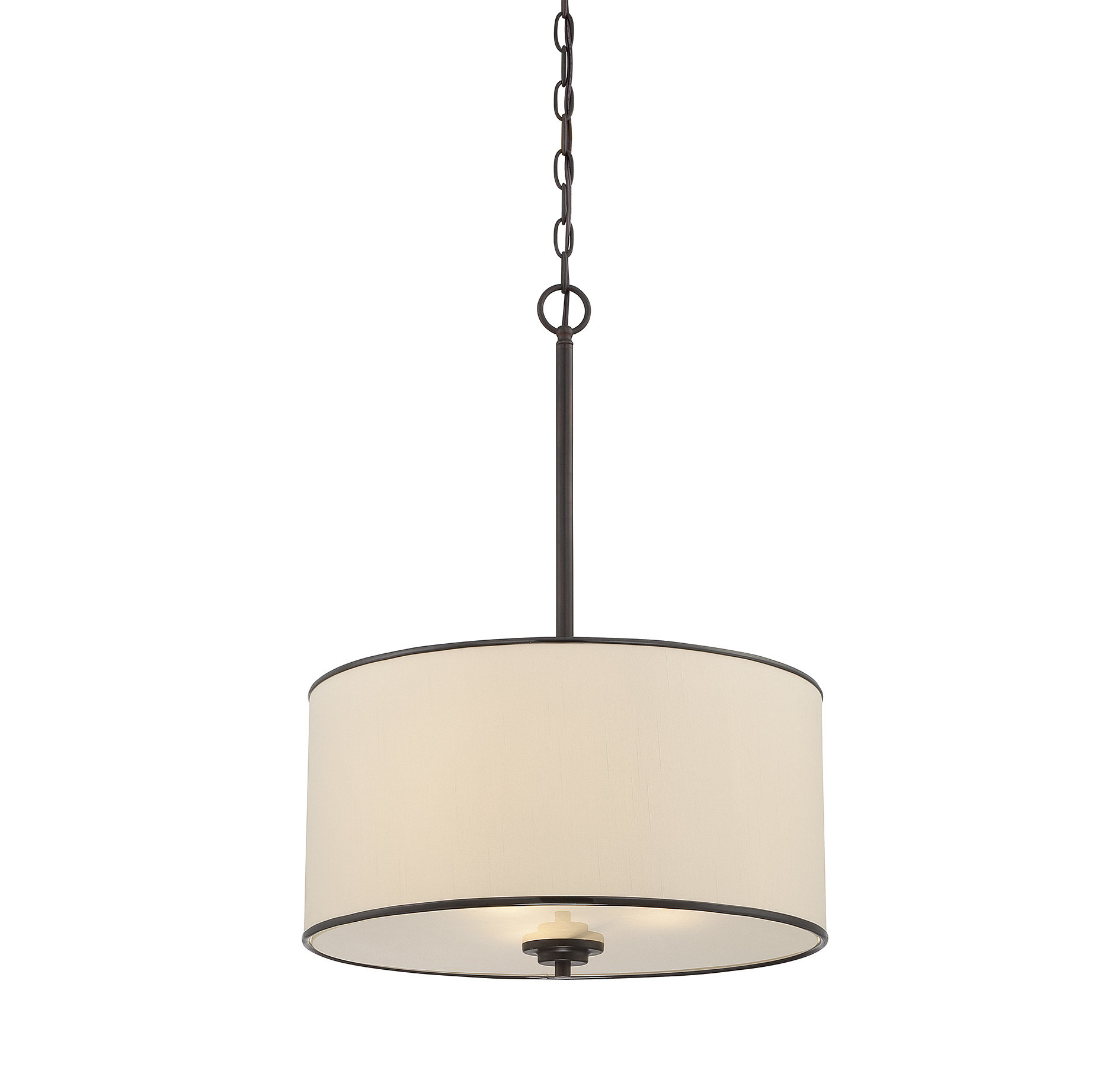 Friedland 3 Light Drum Tiered Pendants Intended For Newest Santamarina 3 Light Drum Chandelier (View 6 of 20)
