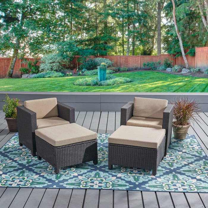 Furst Patio Sofas With Cushion Within Most Up To Date Furst Patio Chair With Cushion (View 7 of 20)