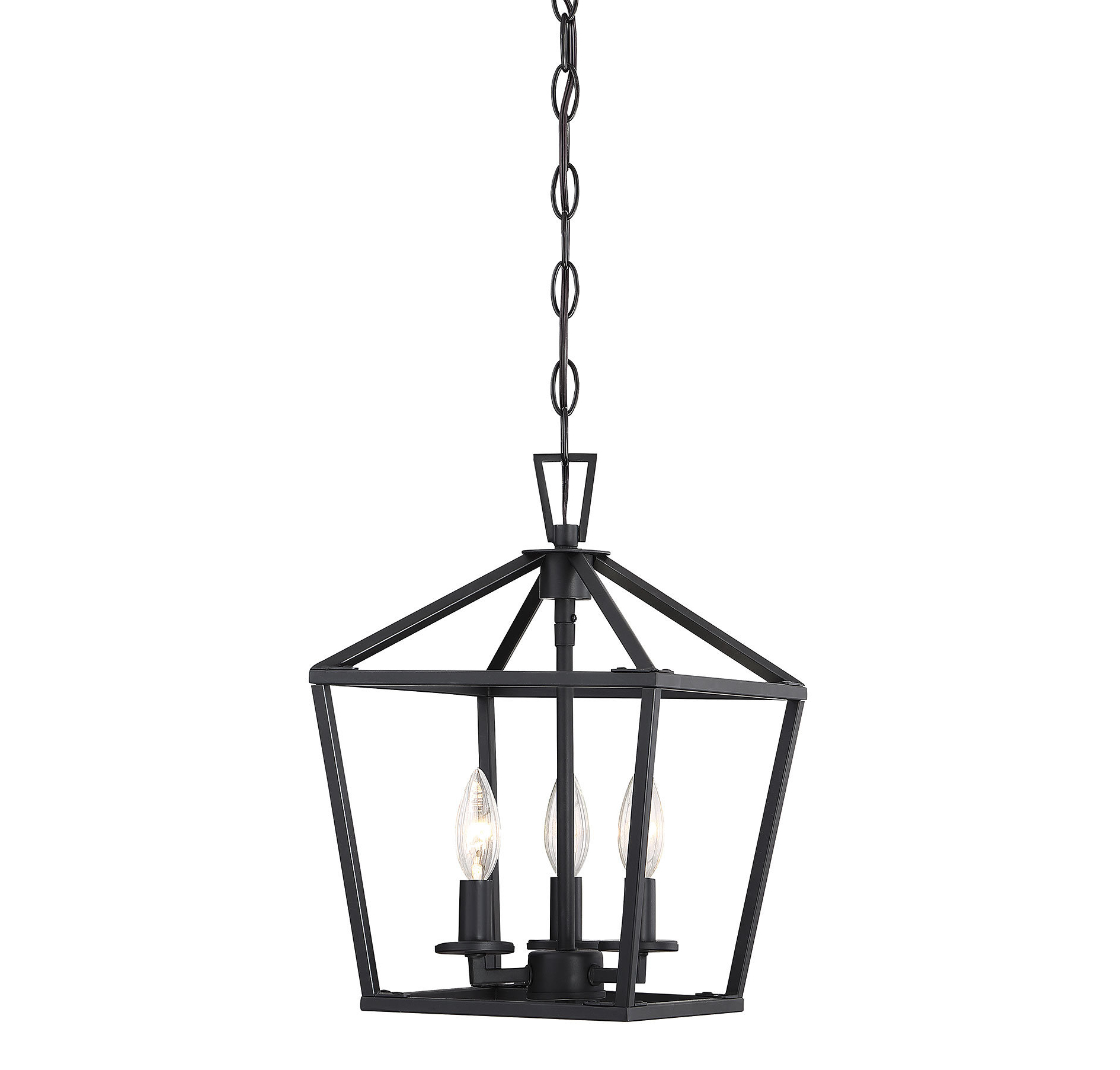 Gabriella 3 Light Lantern Chandeliers Intended For 2020 Israel 3 Light Lantern Geometric Pendant (View 9 of 20)