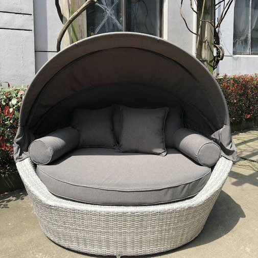 Garden Sanctuary Inside 2019 Carrasco Patio Daybeds With Cushions (View 14 of 20)