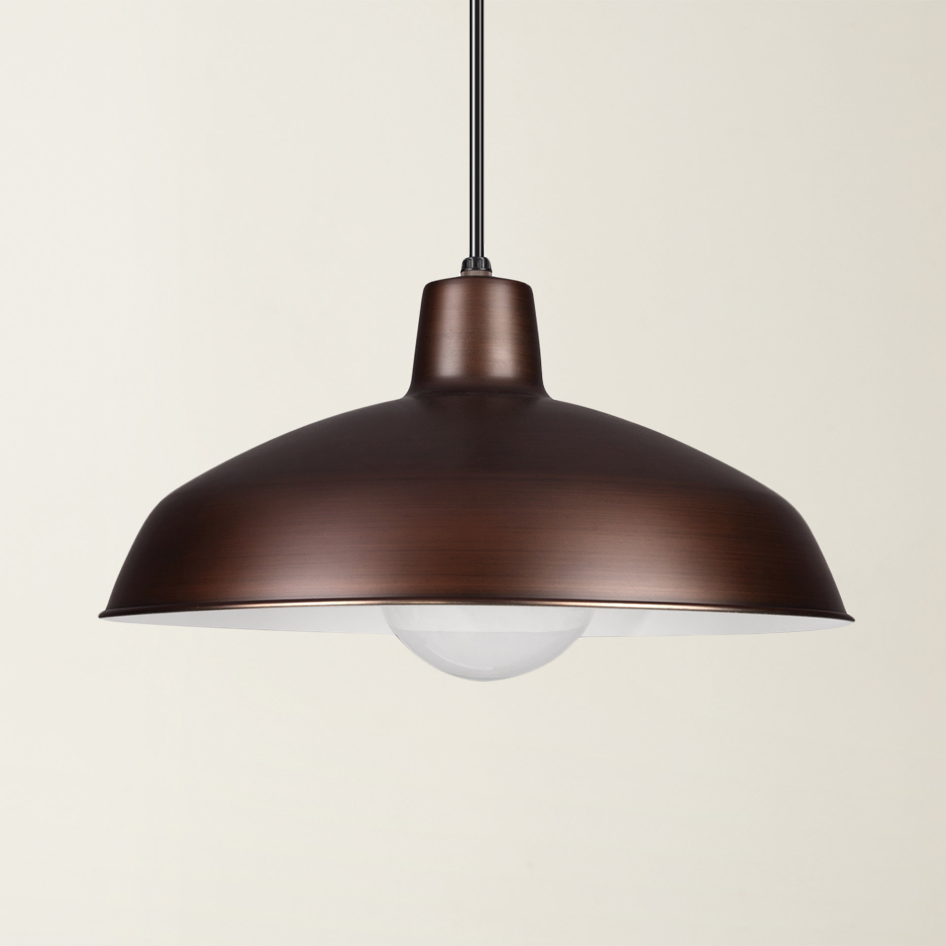 Gattis 1 Light Dome Pendants Intended For Current Mendelson 1 Light Dome Pendant (View 8 of 20)