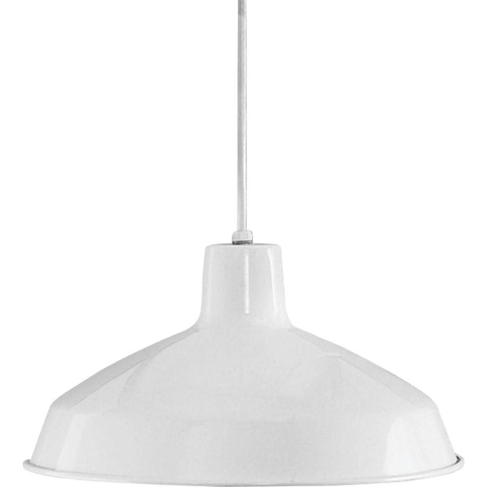 Gattis 1 Light Dome Pendants With Regard To Widely Used Progress Lighting 1 Light Brushed Nickel Led Pendant With (Gallery 3 of 20)