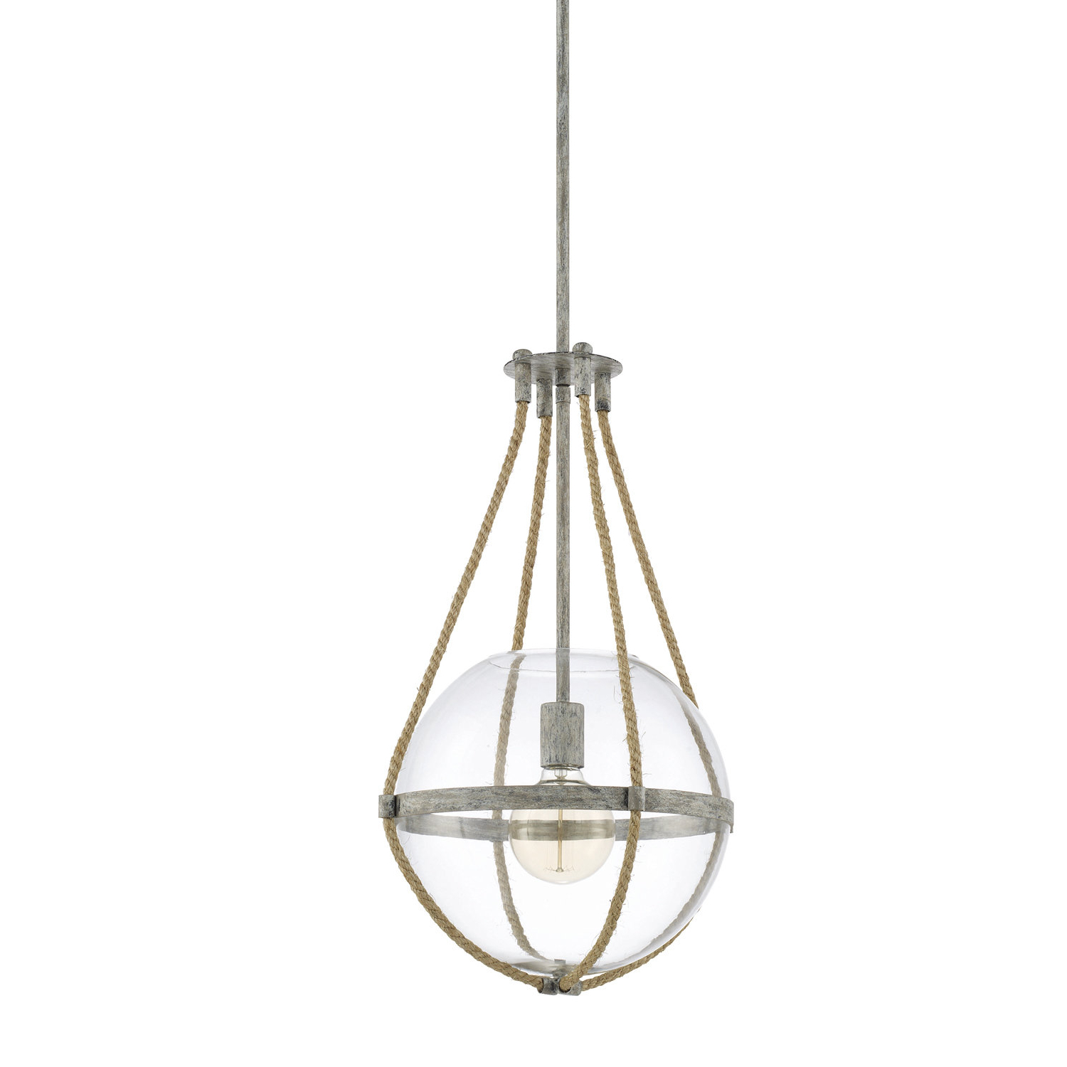 Gehry 1 Light Single Globe Pendants With Regard To Best And Newest Gonzalas 1 Light Single Globe Pendant (View 9 of 20)