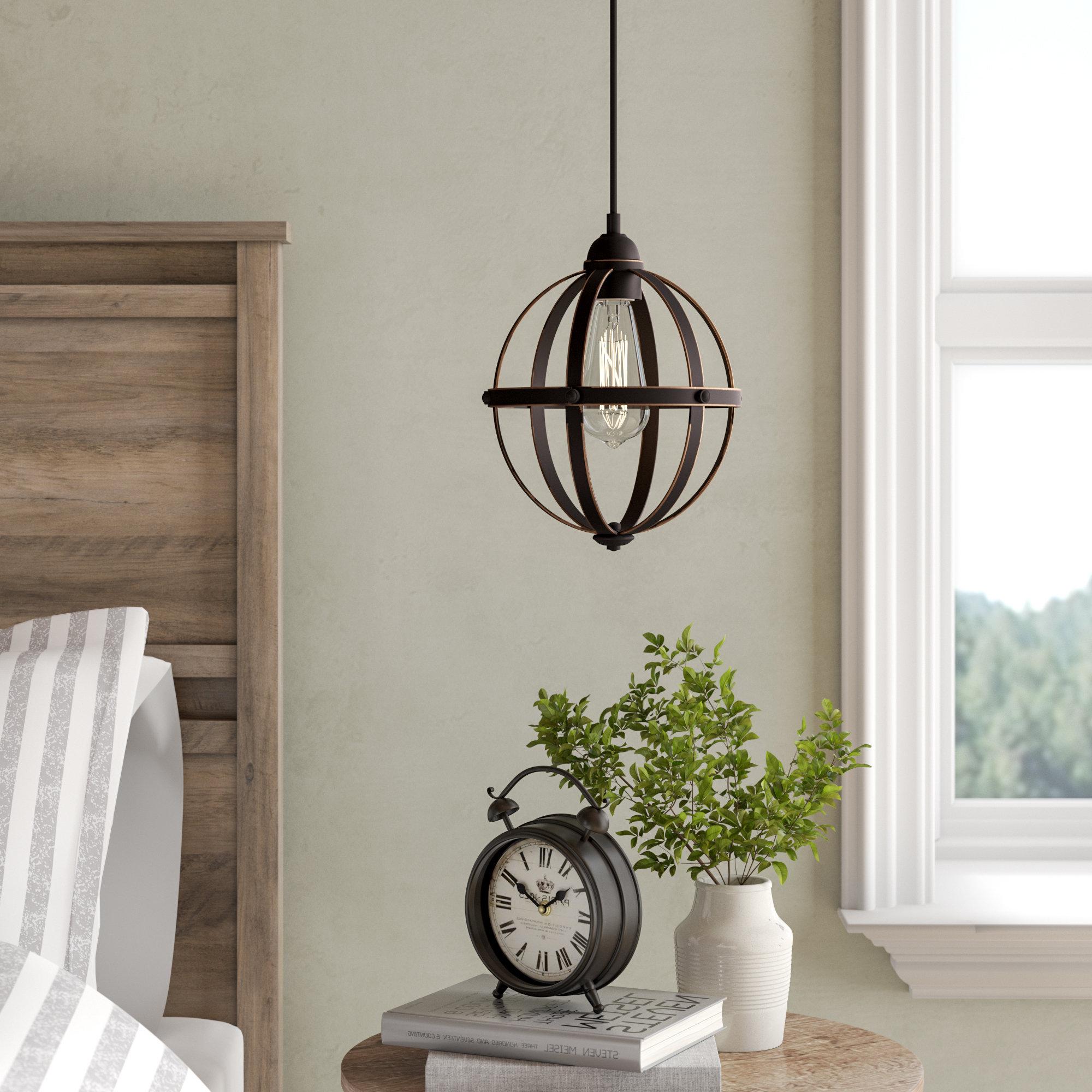 Genna 1 Light Single Globe Pendant With Regard To Current Prange 1 Light Single Globe Pendants (Gallery 5 of 20)