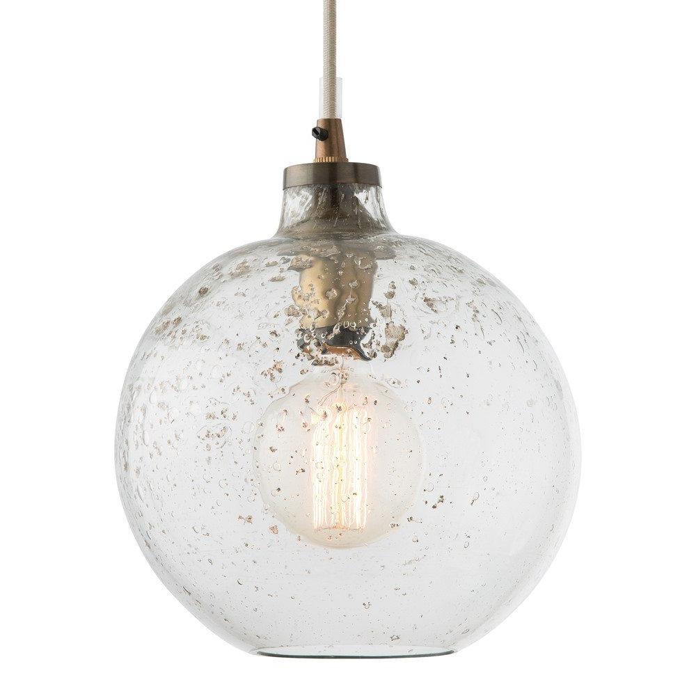 Giacinta 1 Light Single Bell Pendants Pertaining To Favorite 1 Light Globe Pendant (View 7 of 20)