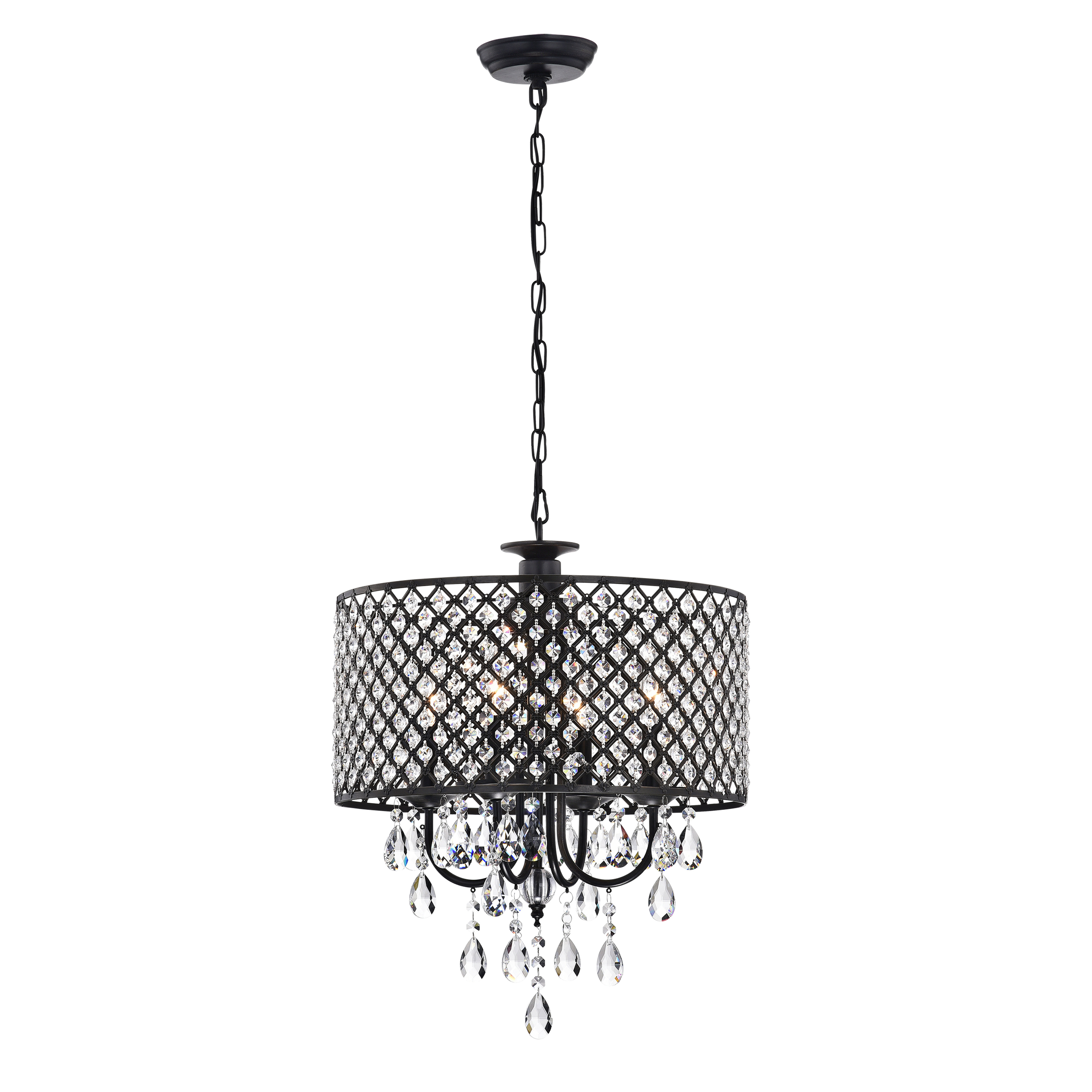 Gisselle 4 Light Drum Chandeliers In Current Willa Arlo Interiors Gisselle 4 Light Drum Chandelier (Gallery 3 of 20)