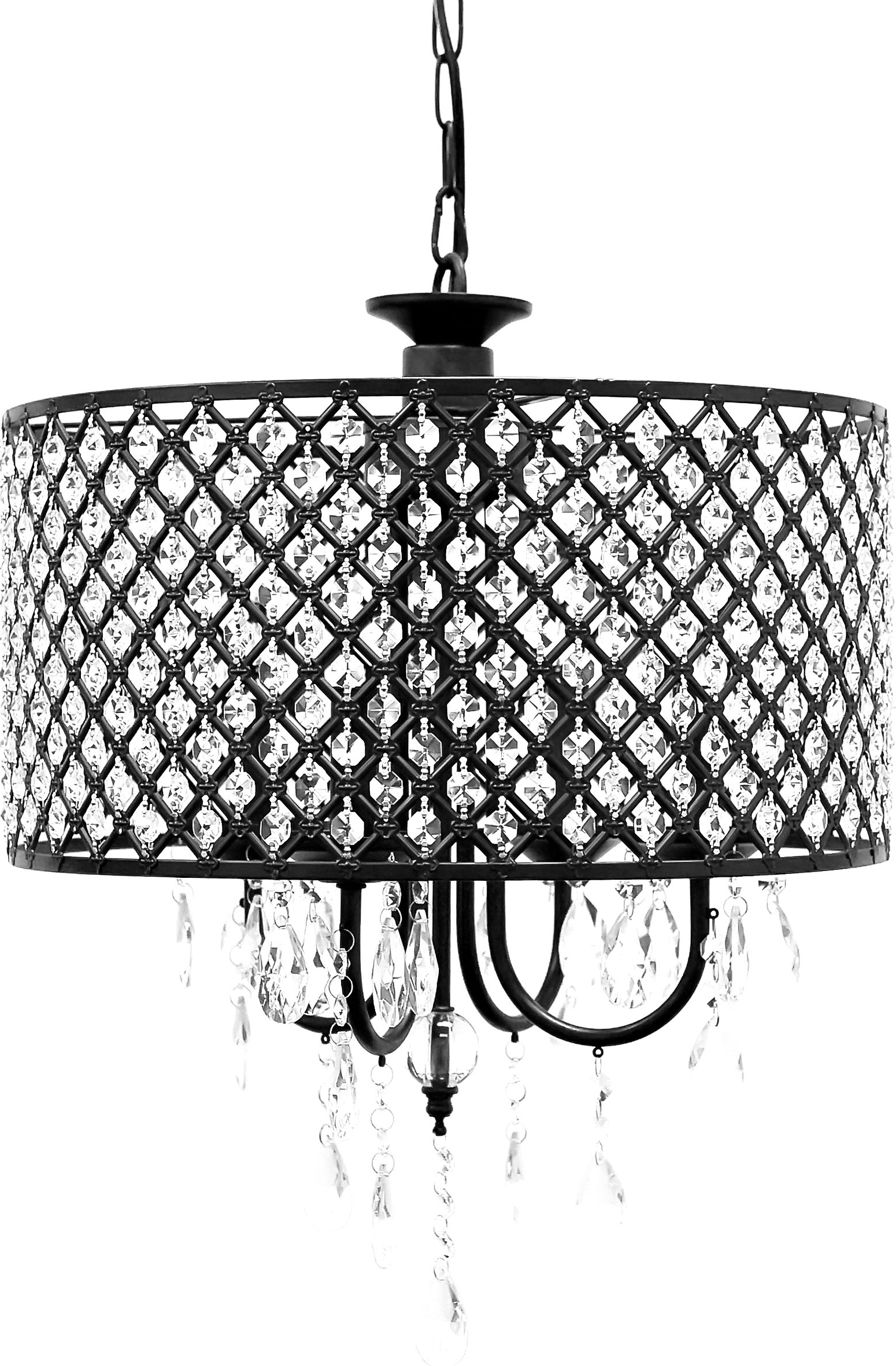 Gisselle 4 Light Drum Chandeliers In Most Popular Willa Arlo Interiors Gisselle 4 Light Led Drum Chandelier (View 4 of 20)