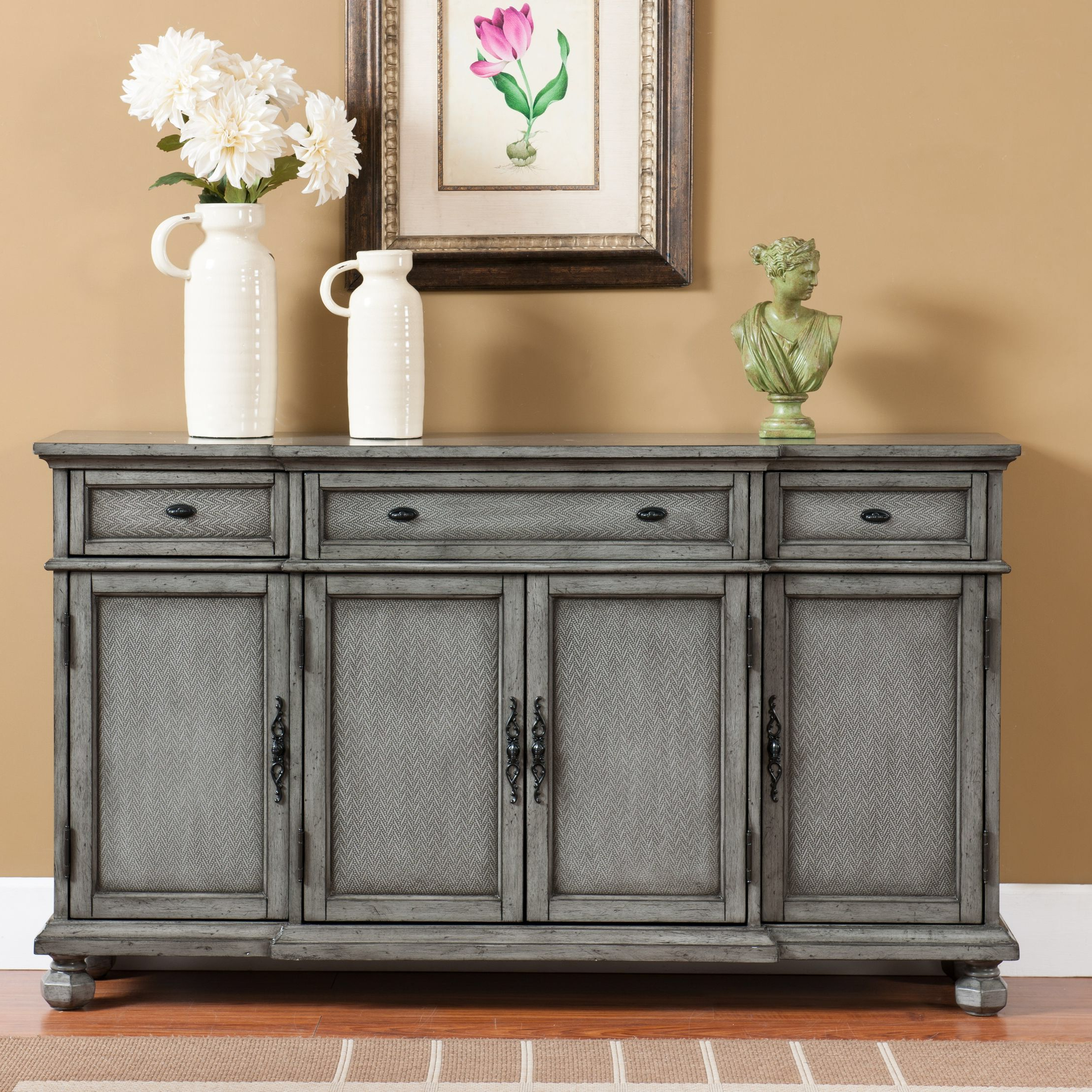 Giulia 3 Drawer Credenza (View 6 of 20)