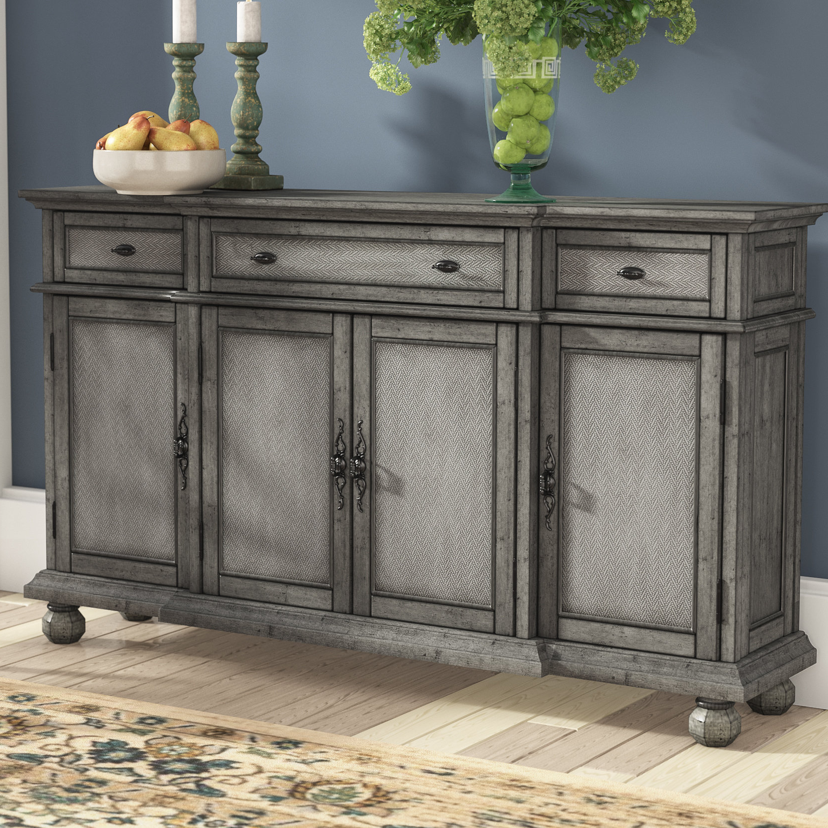 Giulia 3 Drawer Credenzas Regarding Fashionable Giulia 3 Drawer Credenza (View 8 of 20)
