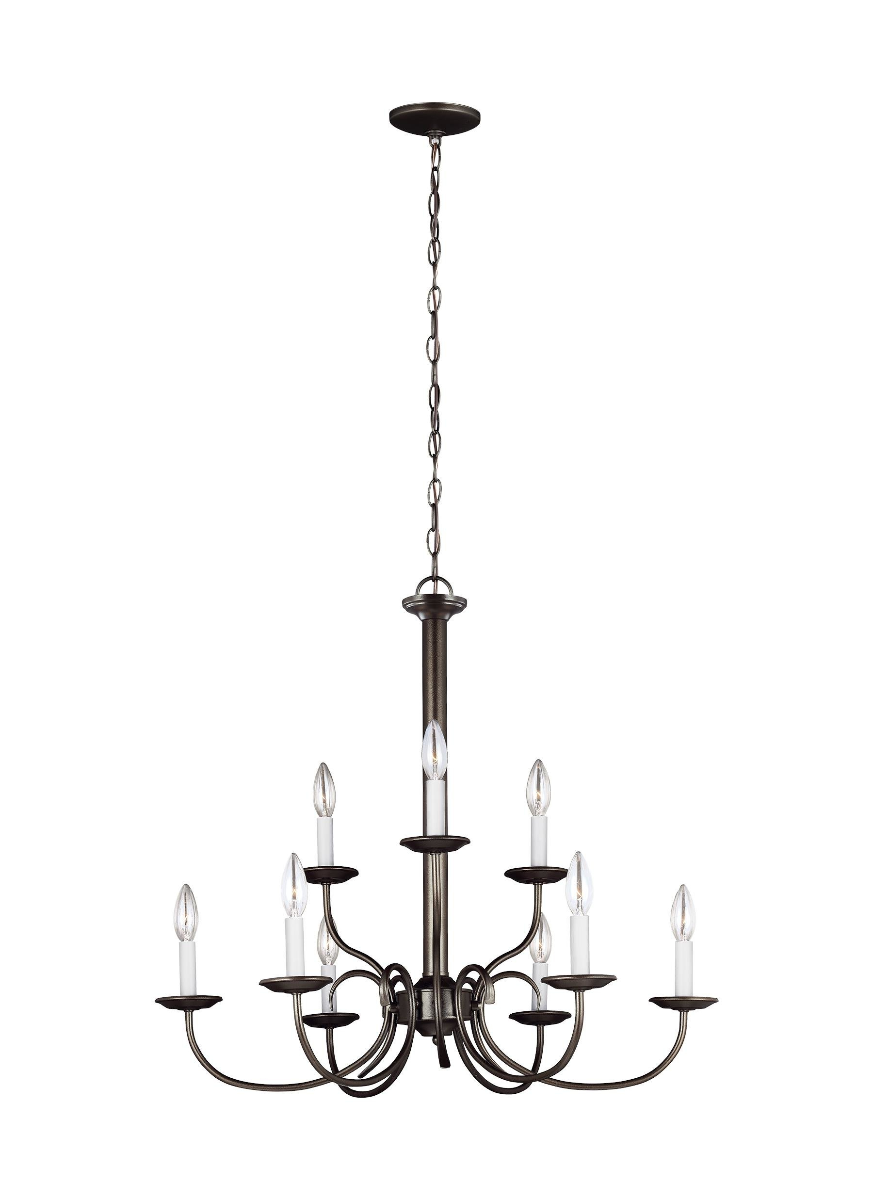 Giverny 9 Light Candle Style Chandeliers Intended For Popular Giverny 9 Light Chandelier (Gallery 7 of 20)