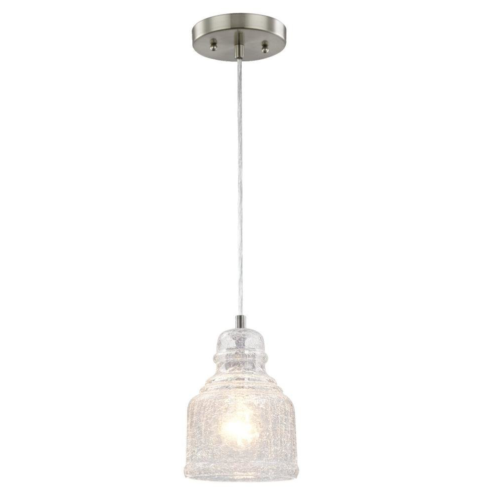 Glassell 1 Light Bell Pendant Within Well Liked Hurst 1 Light Single Cylinder Pendants (View 8 of 20)