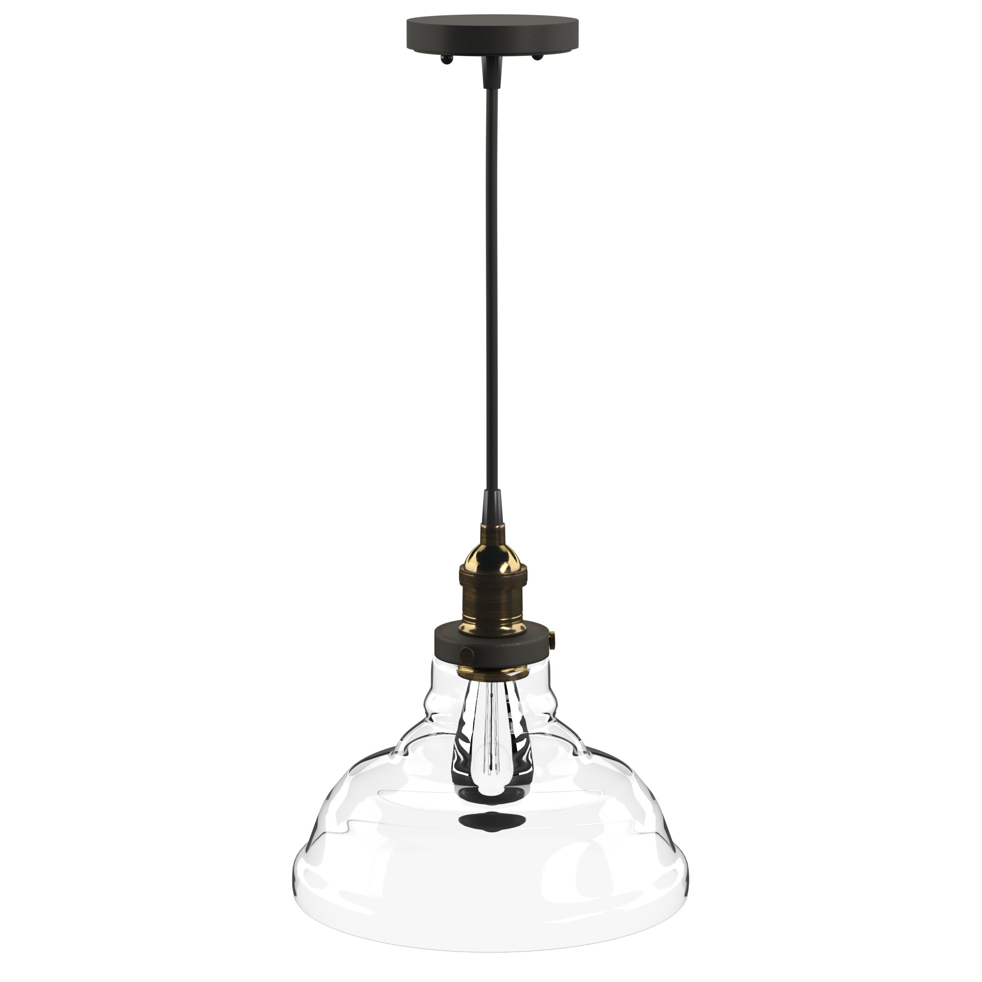 Goldie 1 Light Single Bell Pendants Within Most Popular Akakios 1 Light Single Bell Pendant (Gallery 2 of 20)