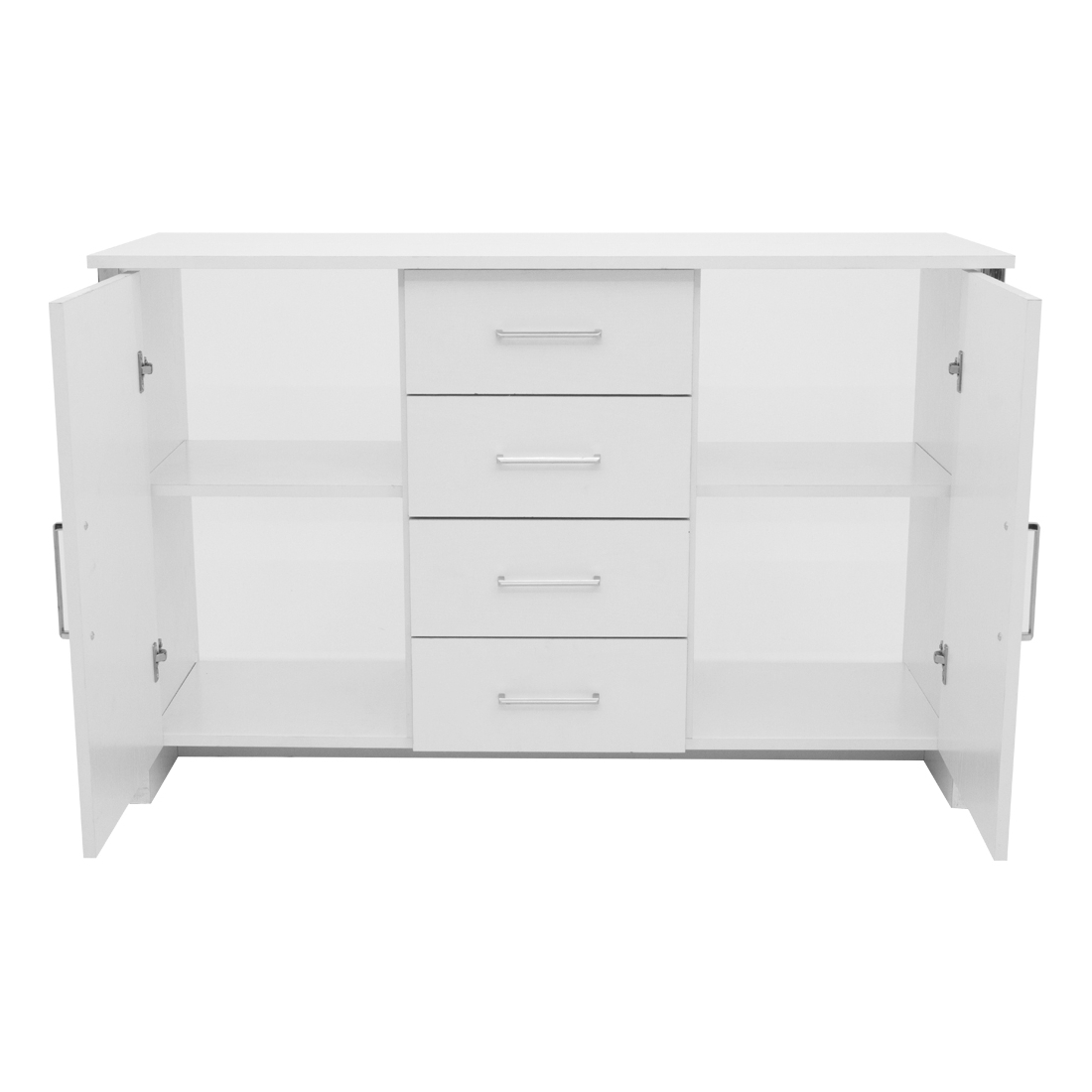 Gosport 2 Door / 4 Drawer Sideboard – White Ash — Online Pertaining To Current Gosport Sideboards (View 5 of 20)