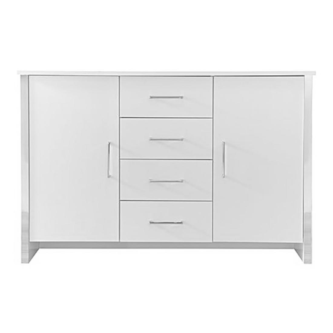 Gosport 2 Door / 4 Drawer Sideboard – White Ash — Online Throughout Recent Gosport Sideboards (Gallery 2 of 20)