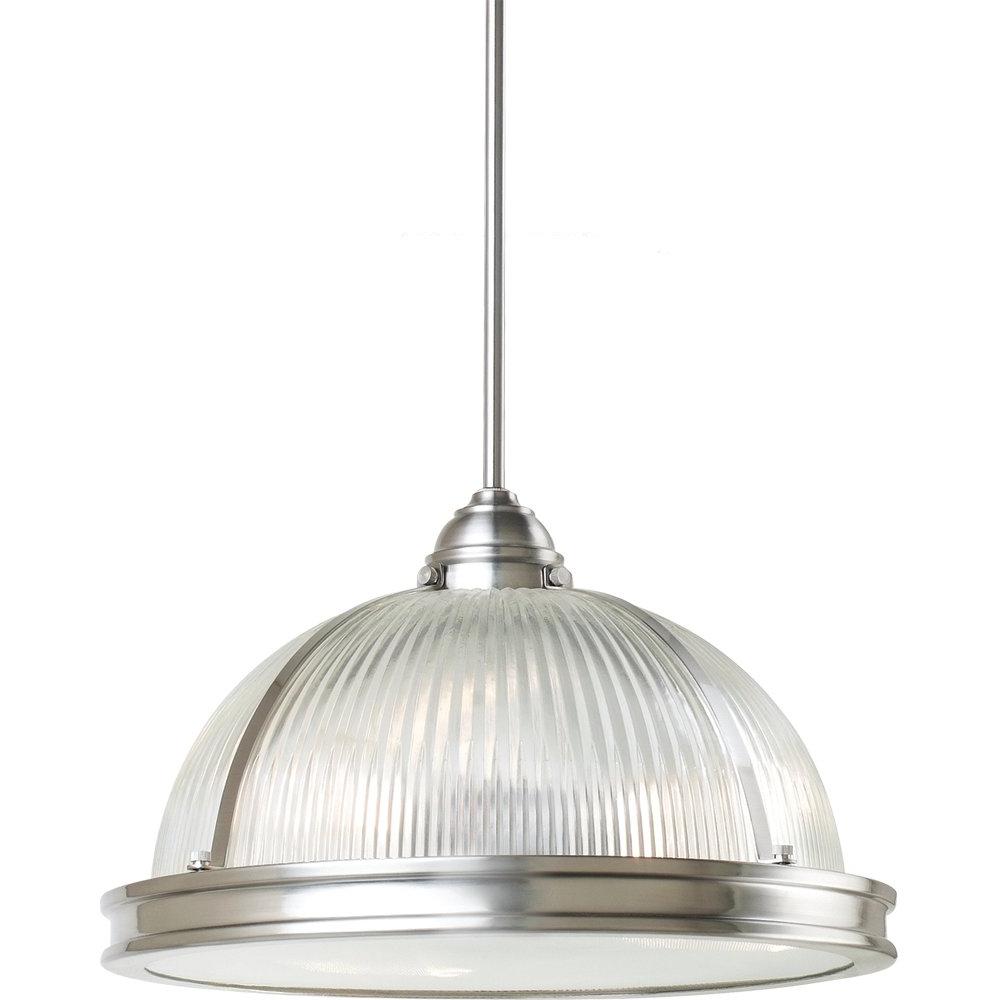 Granville 2 Light Single Dome Pendants Inside Newest Granville 3 Light Single Dome Pendant (Gallery 3 of 20)