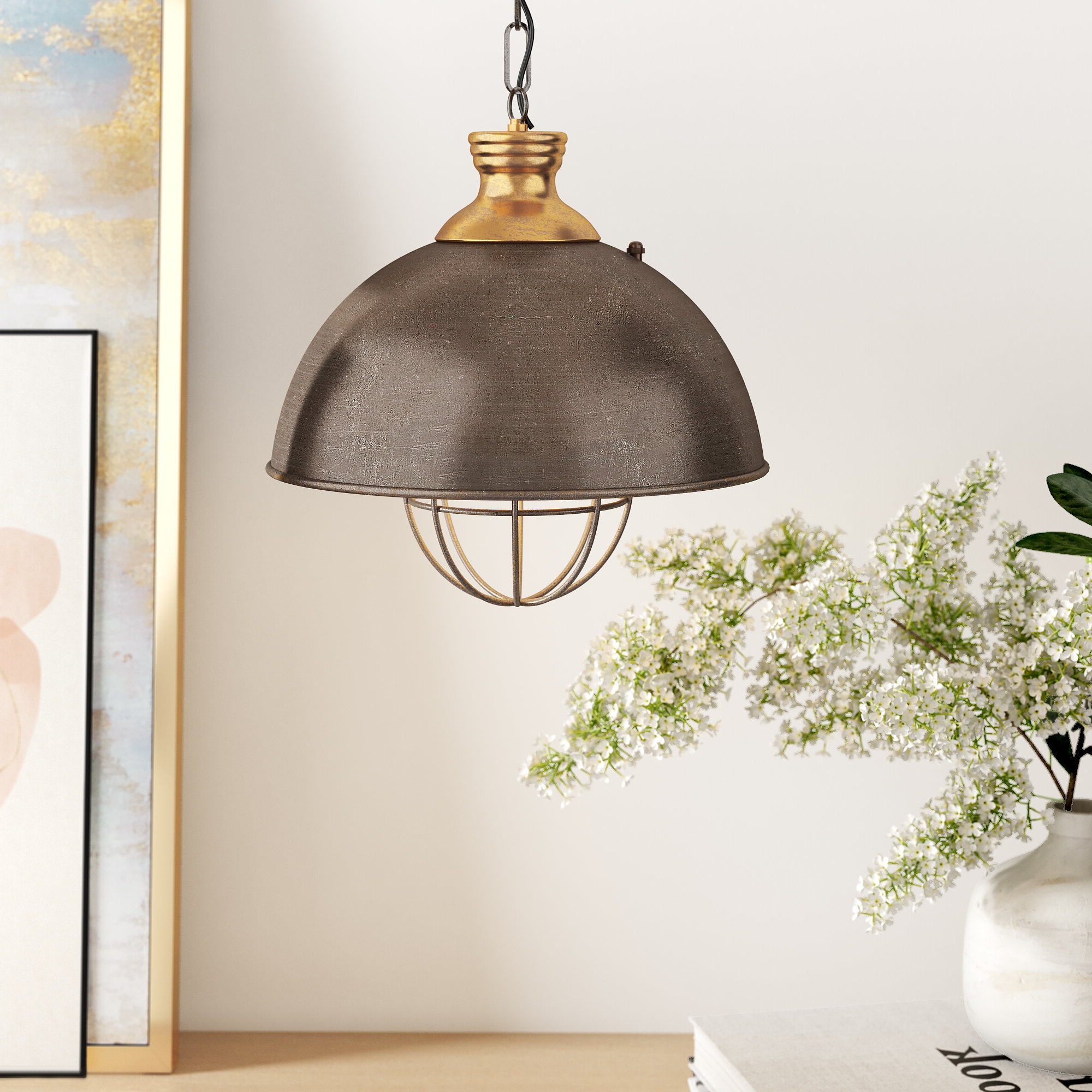 Granville 2 Light Single Dome Pendants With Trendy Olathe 1 Light Single Dome Pendant (Gallery 16 of 20)