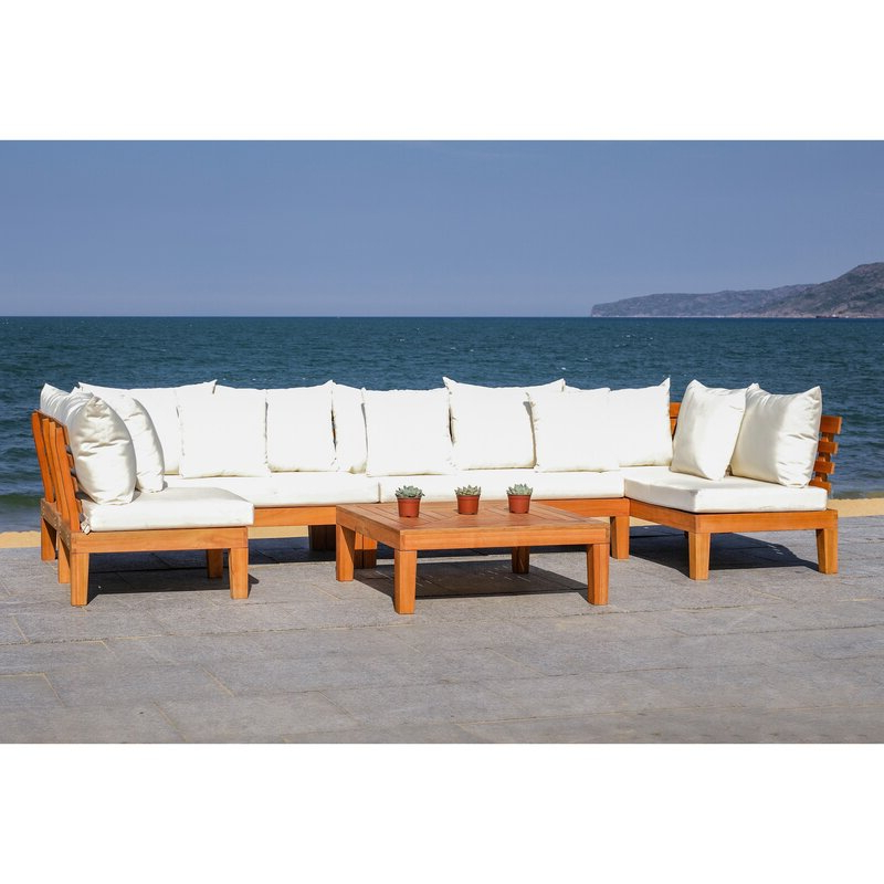 Greta Living Patio Sectional With Cushions Throughout Most Popular Greta Living Patio Sectionals With Cushions (View 5 of 20)