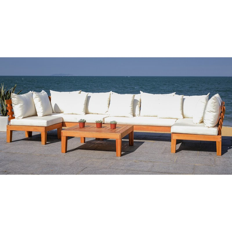 Featured Photo of Greta Living Patio Sectionals With Cushions