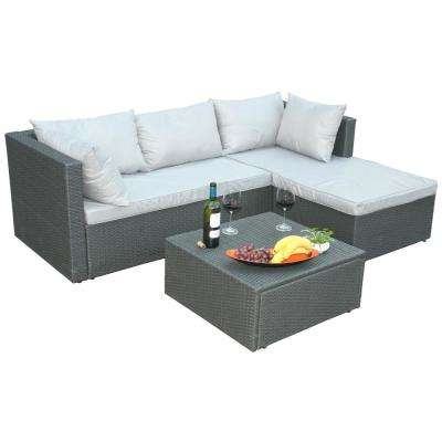 Greta Living Patio Sectionals With Cushions Regarding Most Popular Cushions Included – Aluminum – Outdoor Lounge Furniture (View 15 of 20)