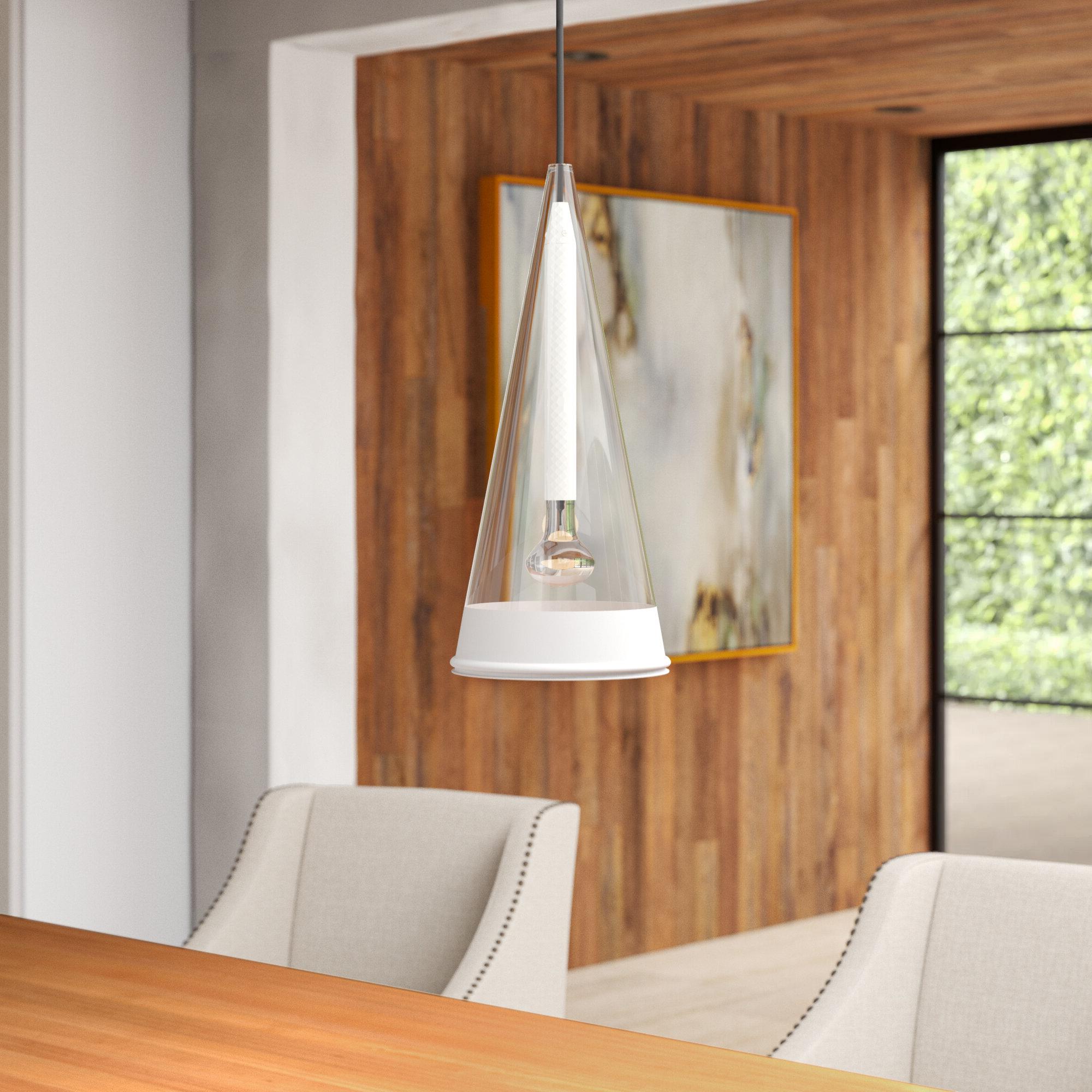 Guro 1 Light Cone Pendants Throughout Favorite Fucsia 1 Light Cone Pendant (View 8 of 20)
