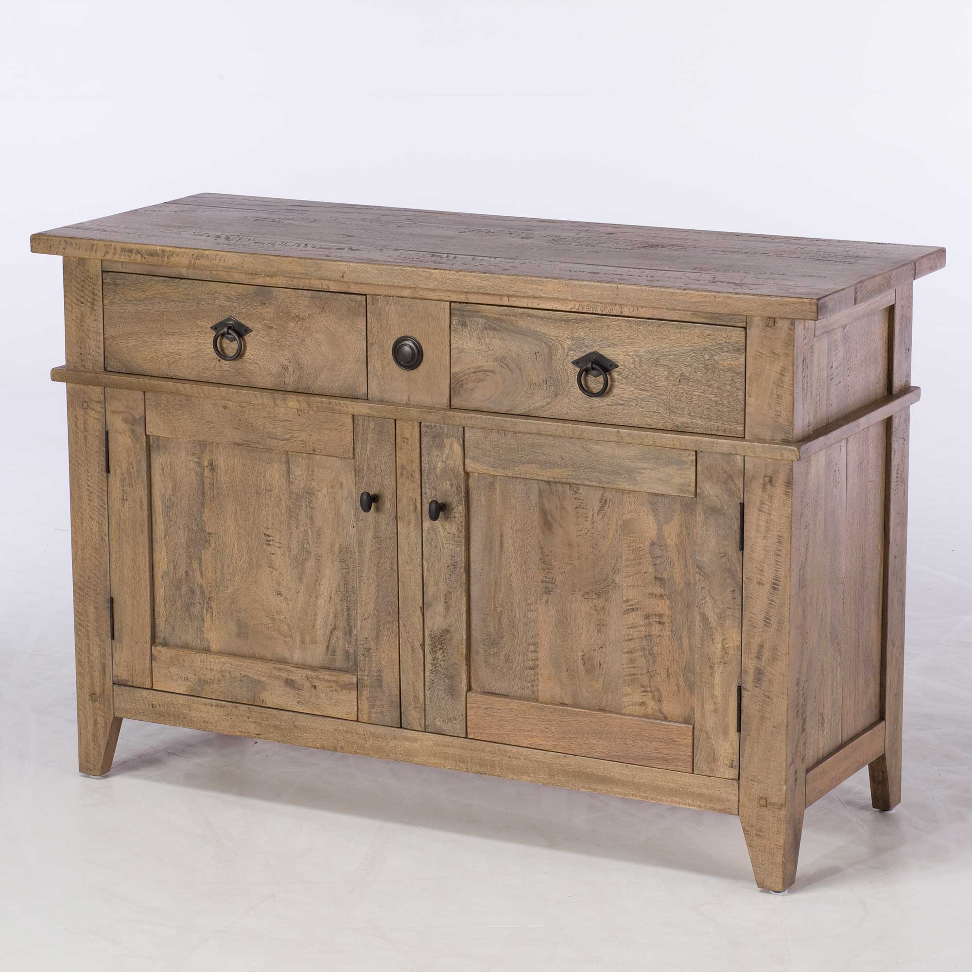 Hancock Small Sideboard, Salvage Deep Grey (Gallery 16 of 20)