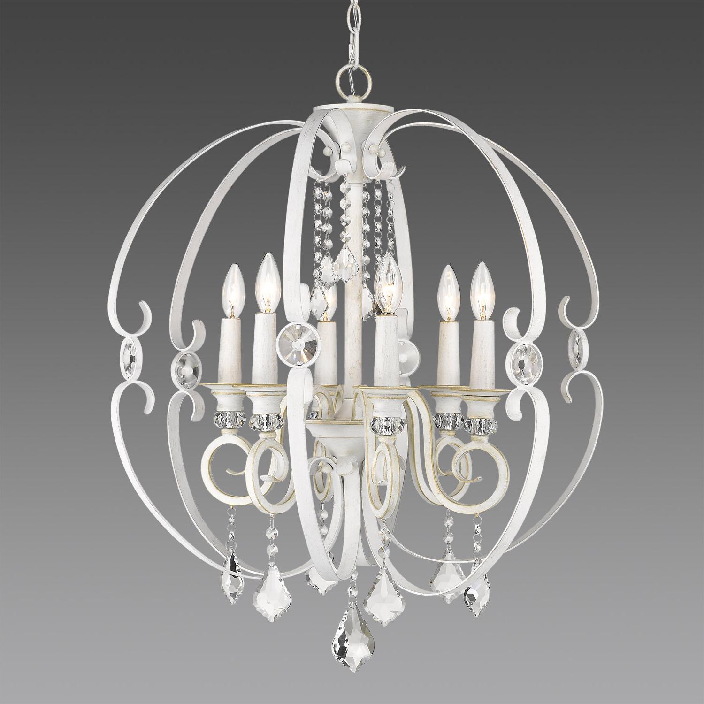 Hardouin 6 Light Globe Chandelier Regarding Fashionable Alden 6 Light Globe Chandeliers (Gallery 13 of 20)