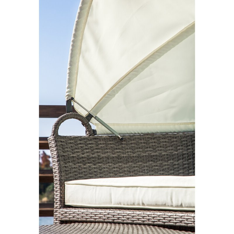 Harlow Patio Daybeds With Cushions For Favorite Harlow Patio Daybed With Cushions (View 7 of 20)