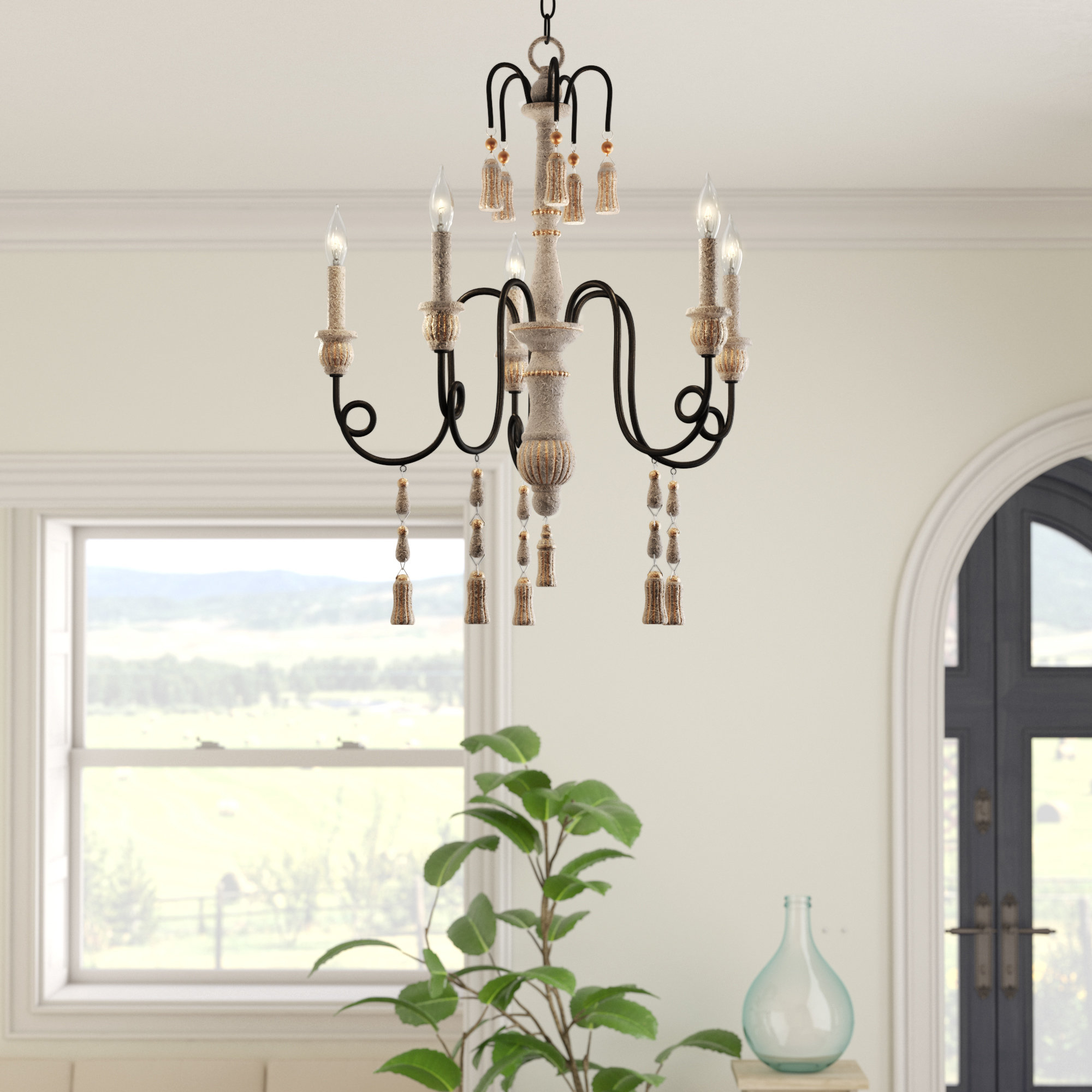 Hassan 5 Light Candle Style Chandelier Within Well Known Armande Candle Style Chandeliers (Gallery 20 of 20)