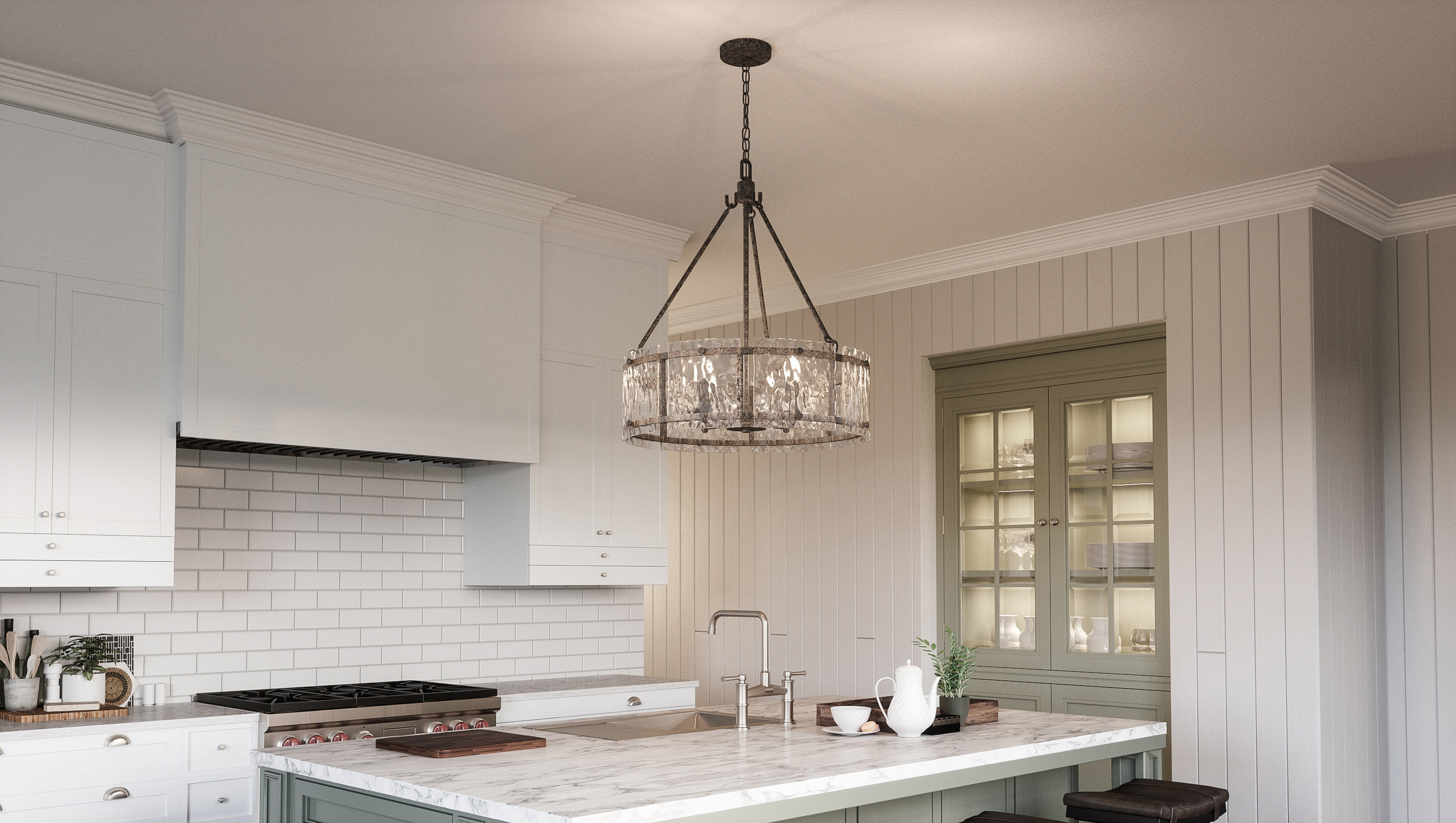 Hasse 5 Light Drum Chandelier For Best And Newest Aadhya 5 Light Drum Chandeliers (View 13 of 20)