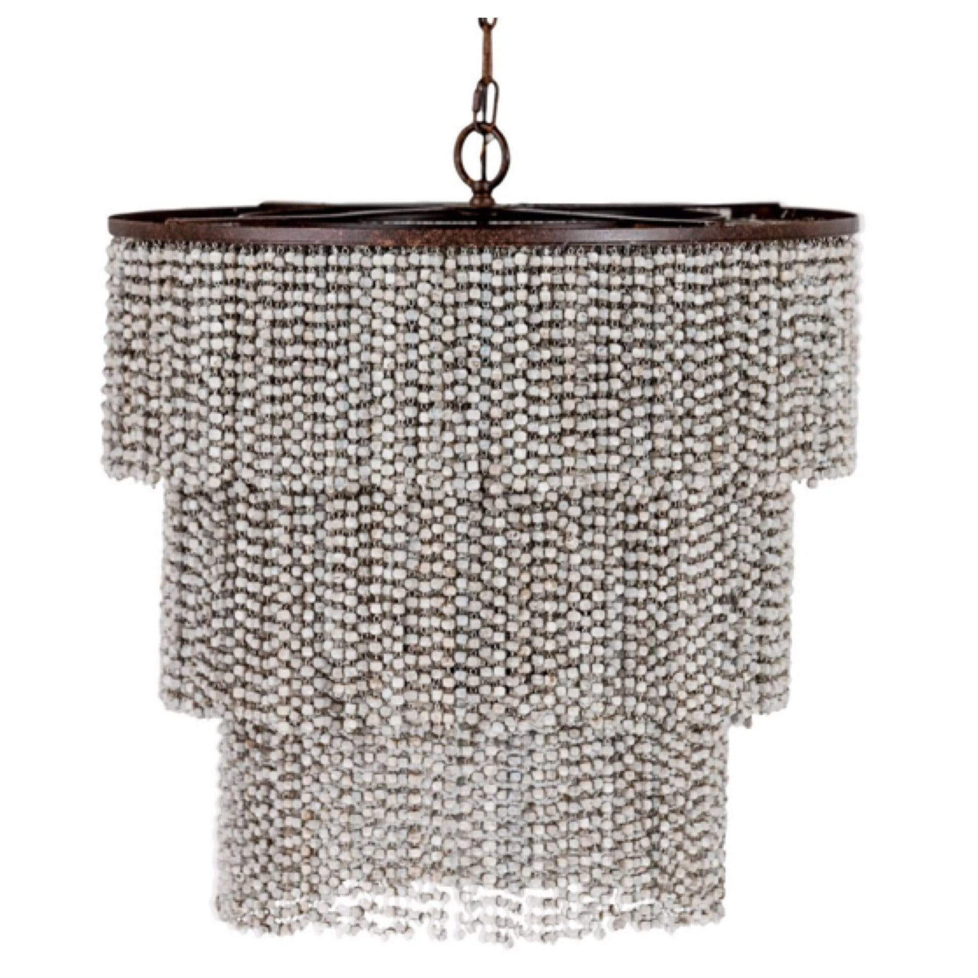Hatfield 3 Light Novelty Chandeliers Pertaining To Most Recently Released Isabella 3 Tier Beaded Chandelier In  (View 12 of 20)