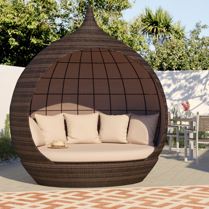 Featured Photo of Hatley Patio Daybeds With Cushions