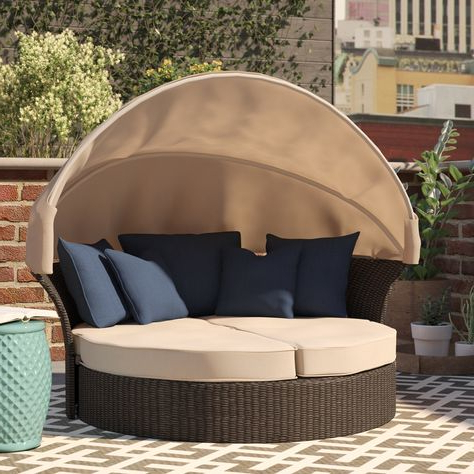 Hatley Patio Daybeds With Cushions Pertaining To Recent Pinterest (View 11 of 20)