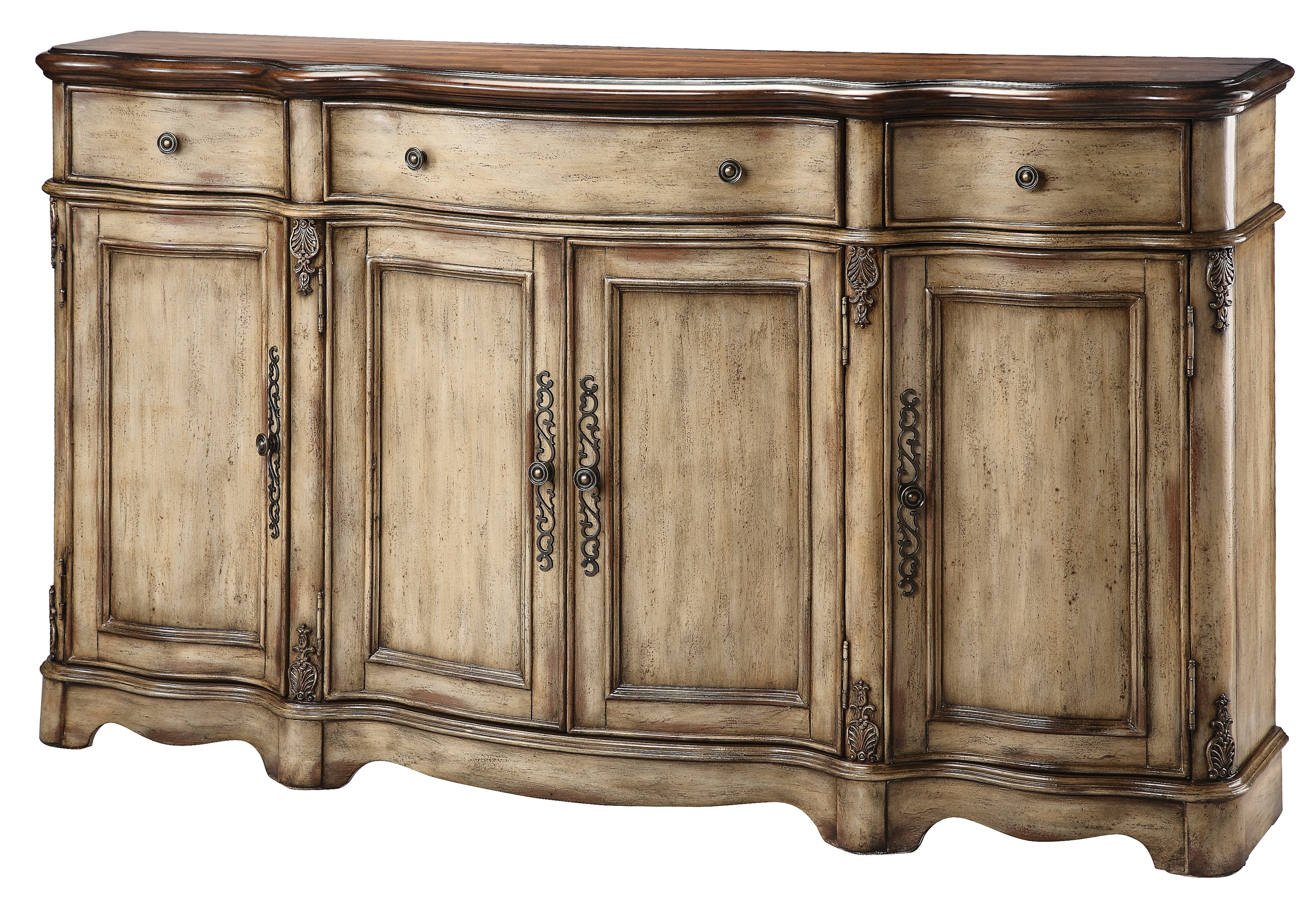 Hayslett Sideboard Inside Most Up To Date Ilyan Traditional Wood Sideboards (View 6 of 20)