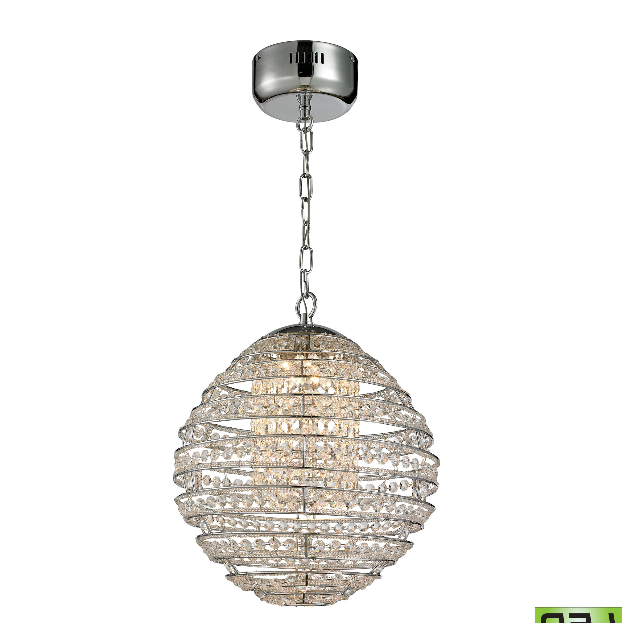 Hermione 1 Light Single Drum Pendants Intended For Famous Tussey 1 Light Led Single Globe Pendant (View 9 of 20)