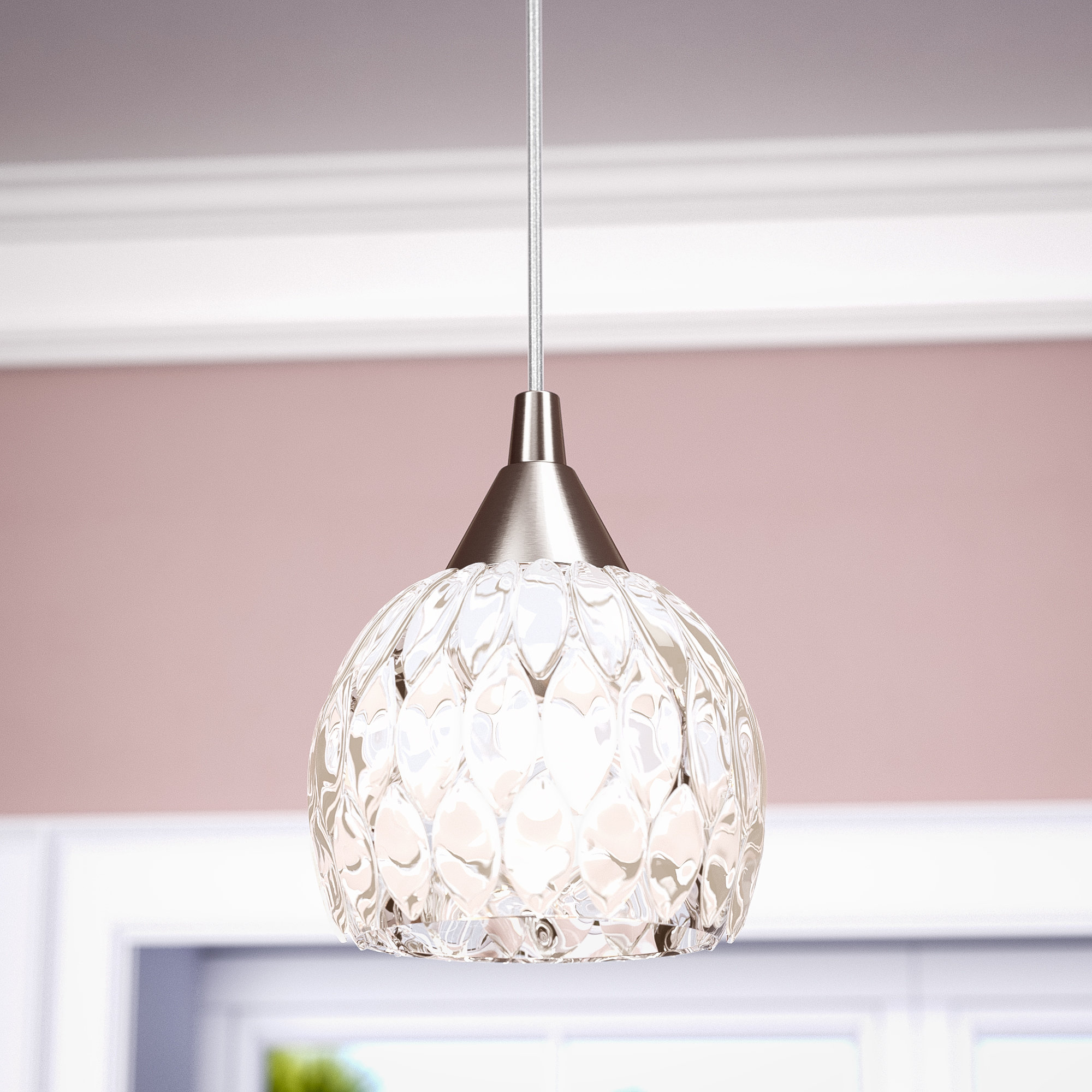 Hermione 1 Light Single Drum Pendants Intended For Most Up To Date Appleton 1 Light Globe Pendant (View 15 of 20)