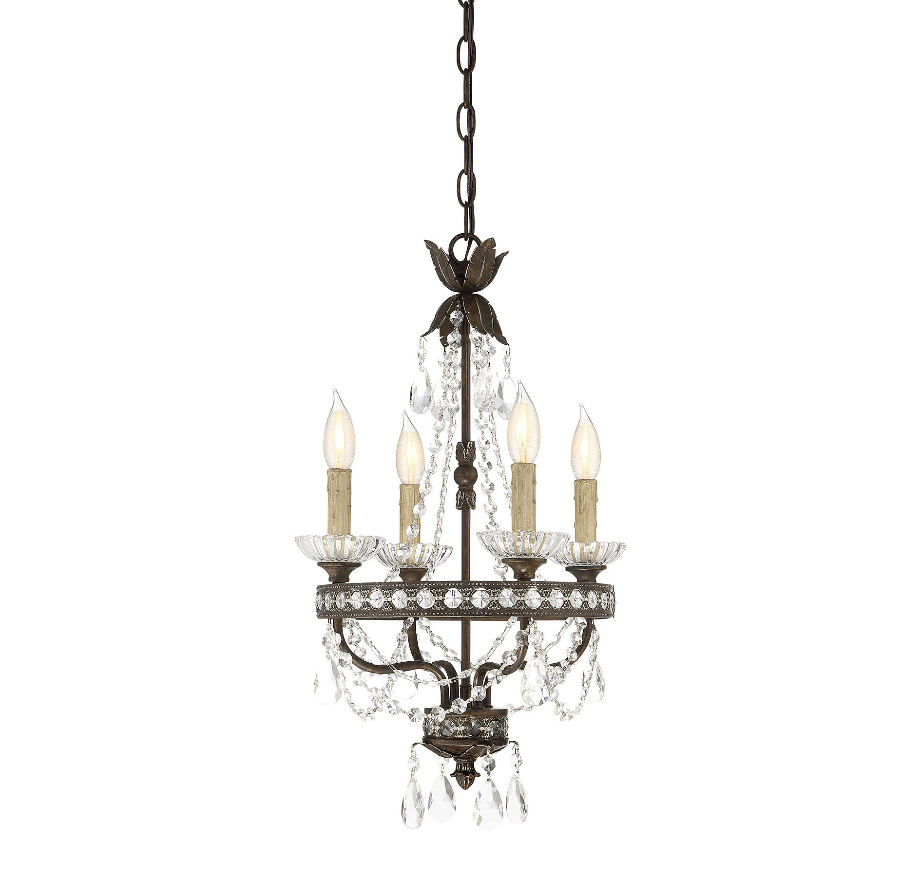 Hesse 5 Light Candle Style Chandeliers With Most Current Lefler 4 Light Candle Style Chandelier (View 12 of 20)