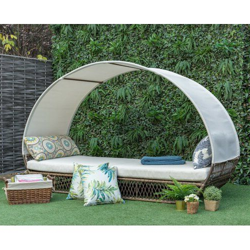 Home 2019 With Lavina Outdoor Patio Daybeds With Cushions (View 6 of 20)