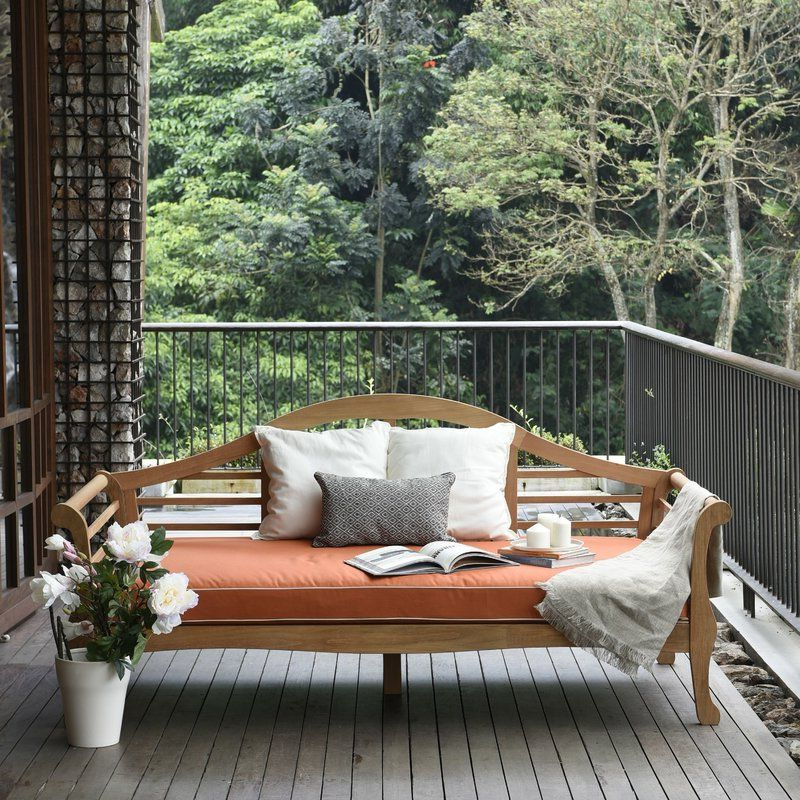 Home In Latest Summerton Teak Patio Sofas With Cushions (View 4 of 20)