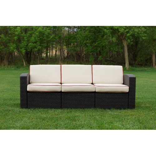 Home Style – Outdoors With Favorite Loggins Patio Sofas With Cushions (View 6 of 21)