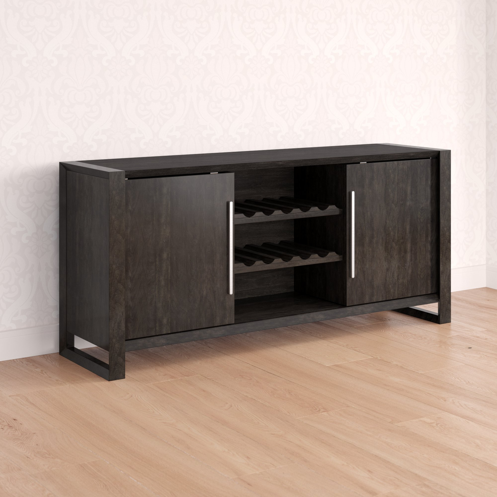 Home Wet Bar Credenza (View 7 of 20)
