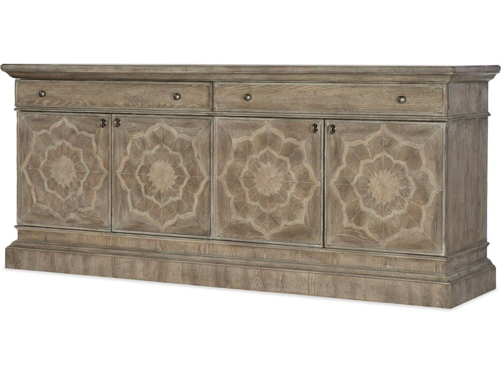 Hooker Furniture Home Entertainment Dahlia Entertainment Inside Favorite Senda Credenzas (View 18 of 20)
