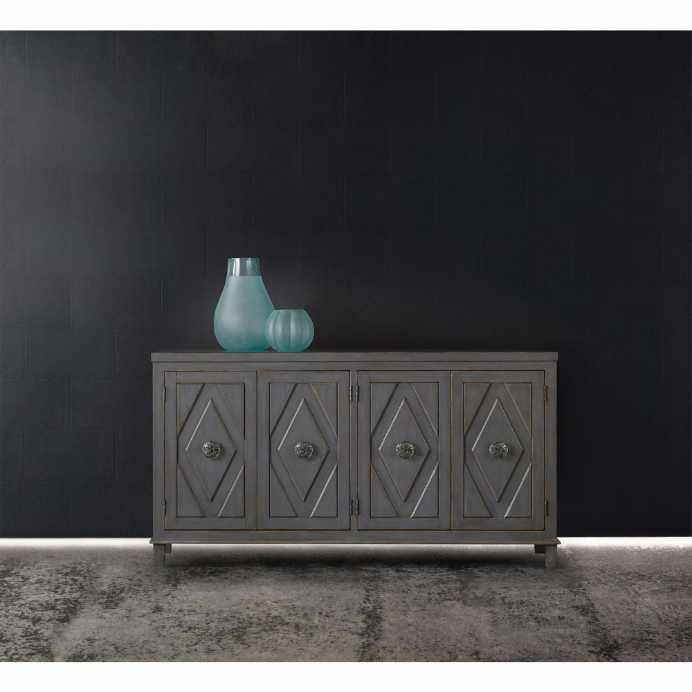 Hooker Furniture – Melange Raellen Console – 638 85159 Pertaining To Most Recently Released Melange Brockton Sideboards (View 5 of 20)