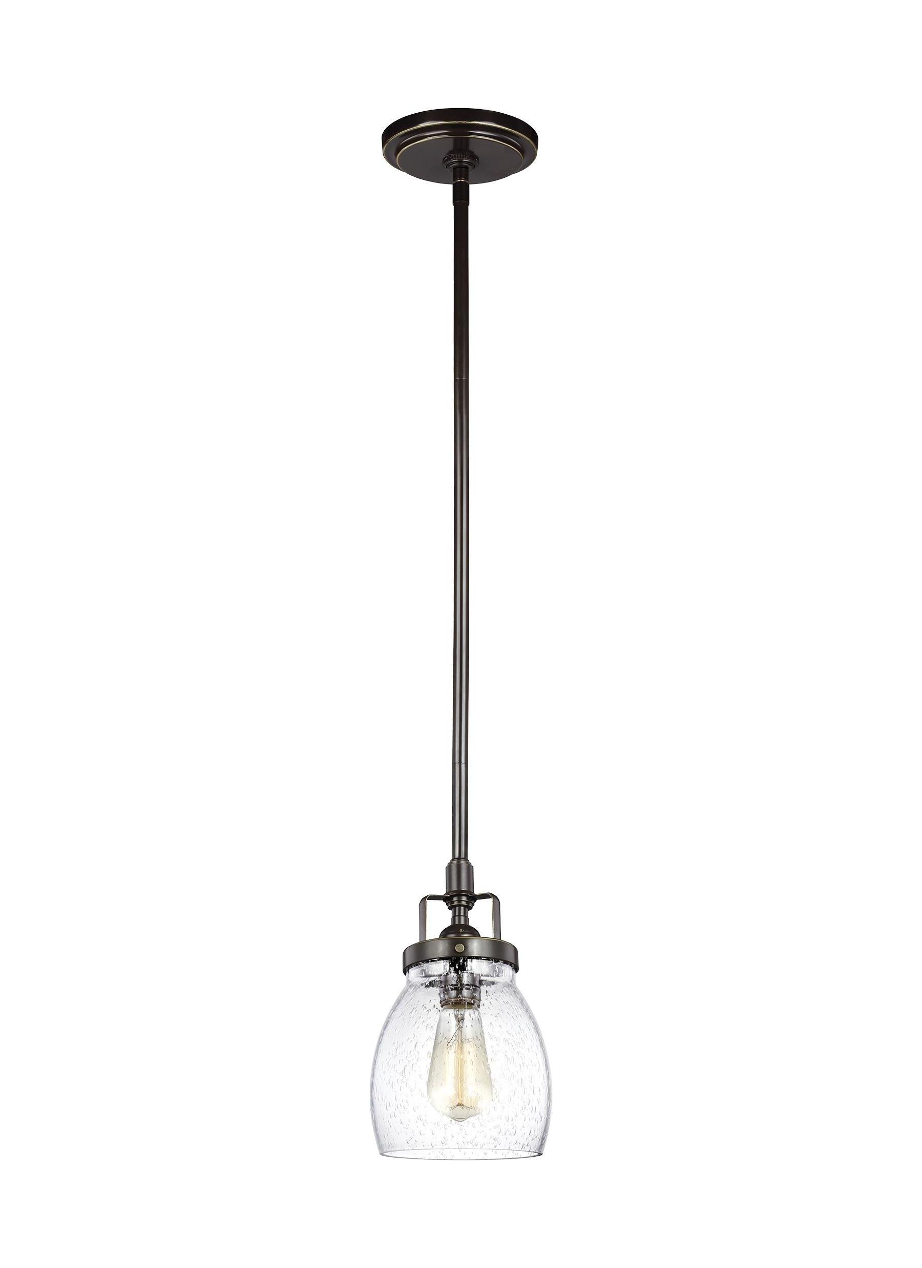 Houon Heirloom Bronze 1 Light Cone Bell Pendant Throughout Trendy Houon 1 Light Cone Bell Pendants (View 10 of 20)