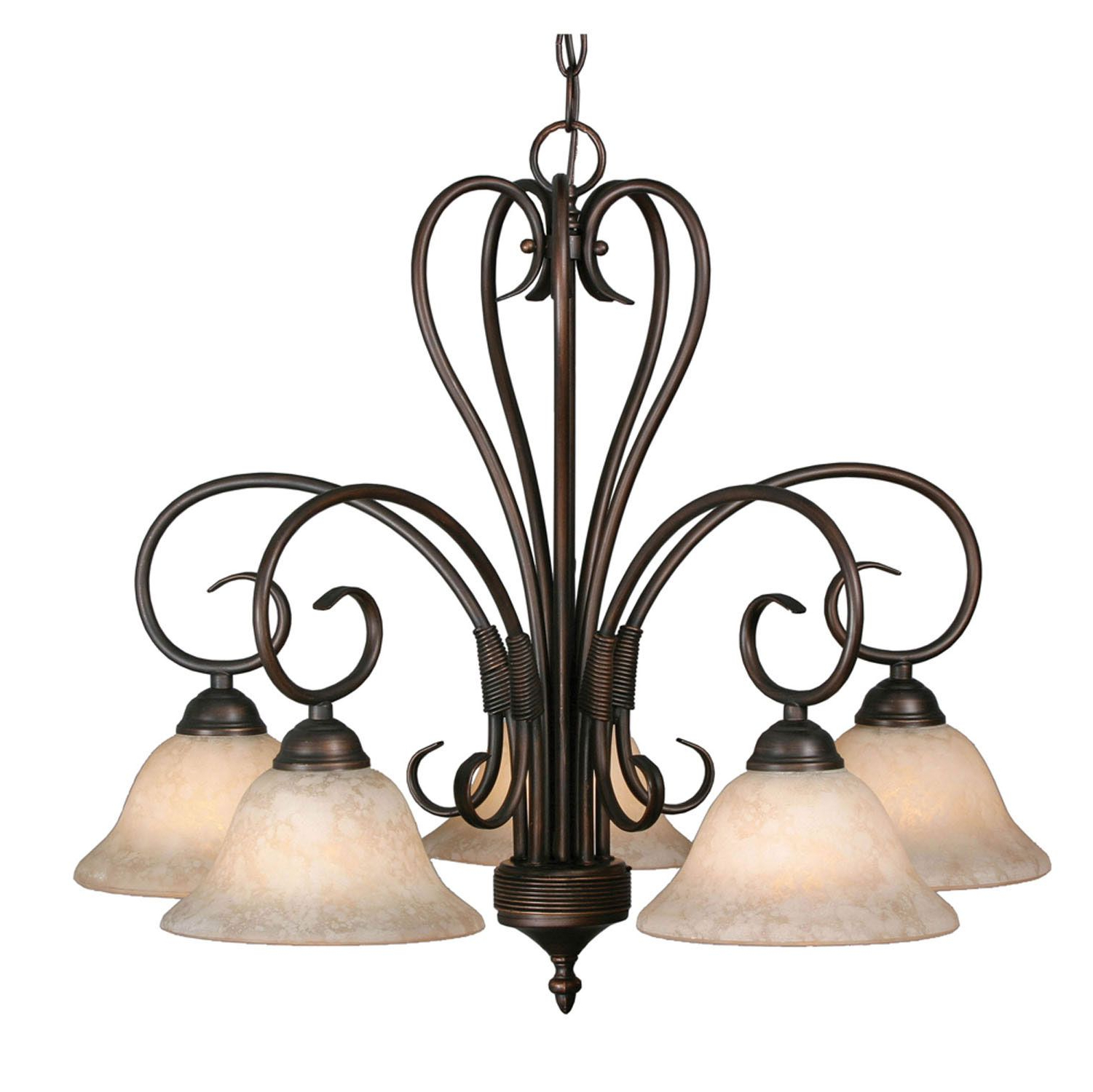 Household Needs Intended For Gaines 5 Light Shaded Chandeliers (View 18 of 20)